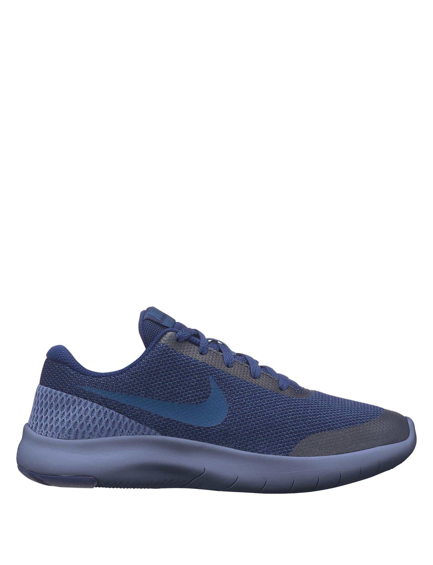 Nike Flex Experience Run 7 Running Shoes - Boys 4-7 - Navy - 7 72ceb2652
