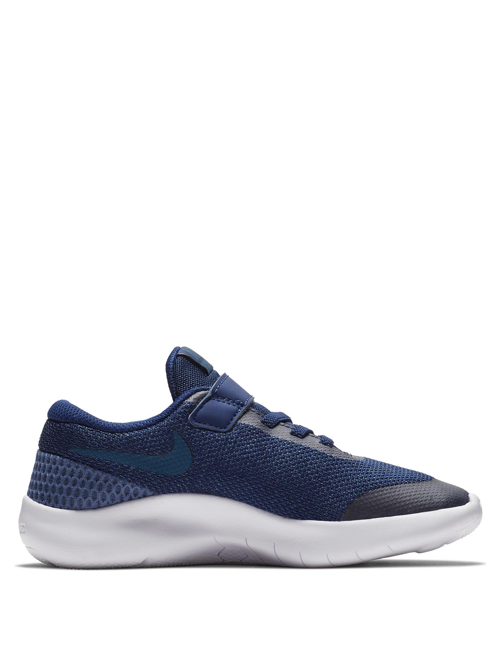 Nike Flex Experience Run 7 Running Shoes - Boys 11-3 - Navy - 3 a41ee72c7