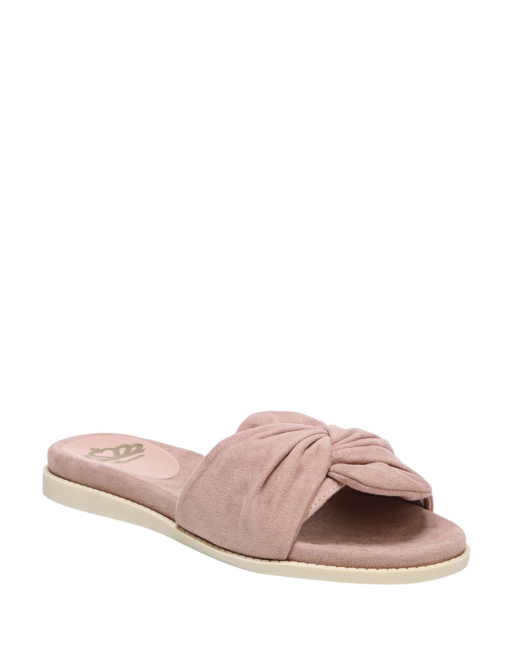 Fergalicious by Fergie True Mauve Slide Sandals