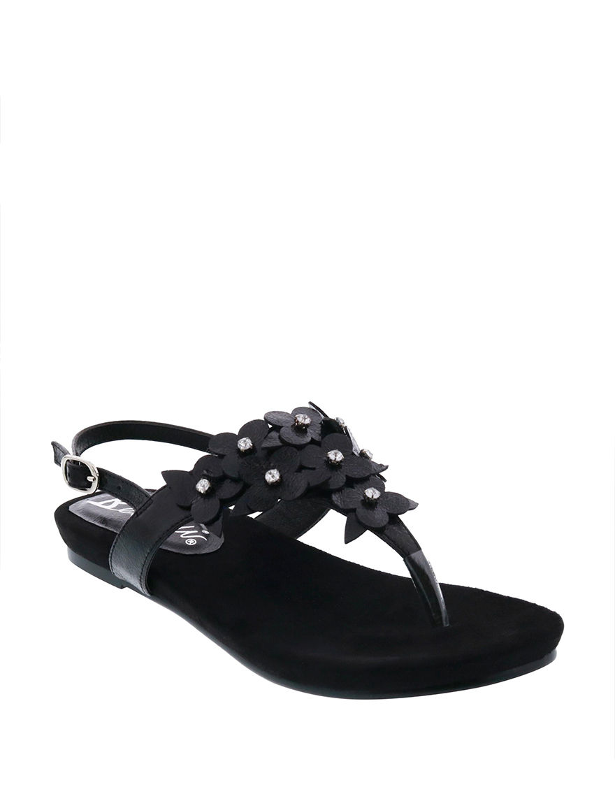 Bellini Black Flip Flops