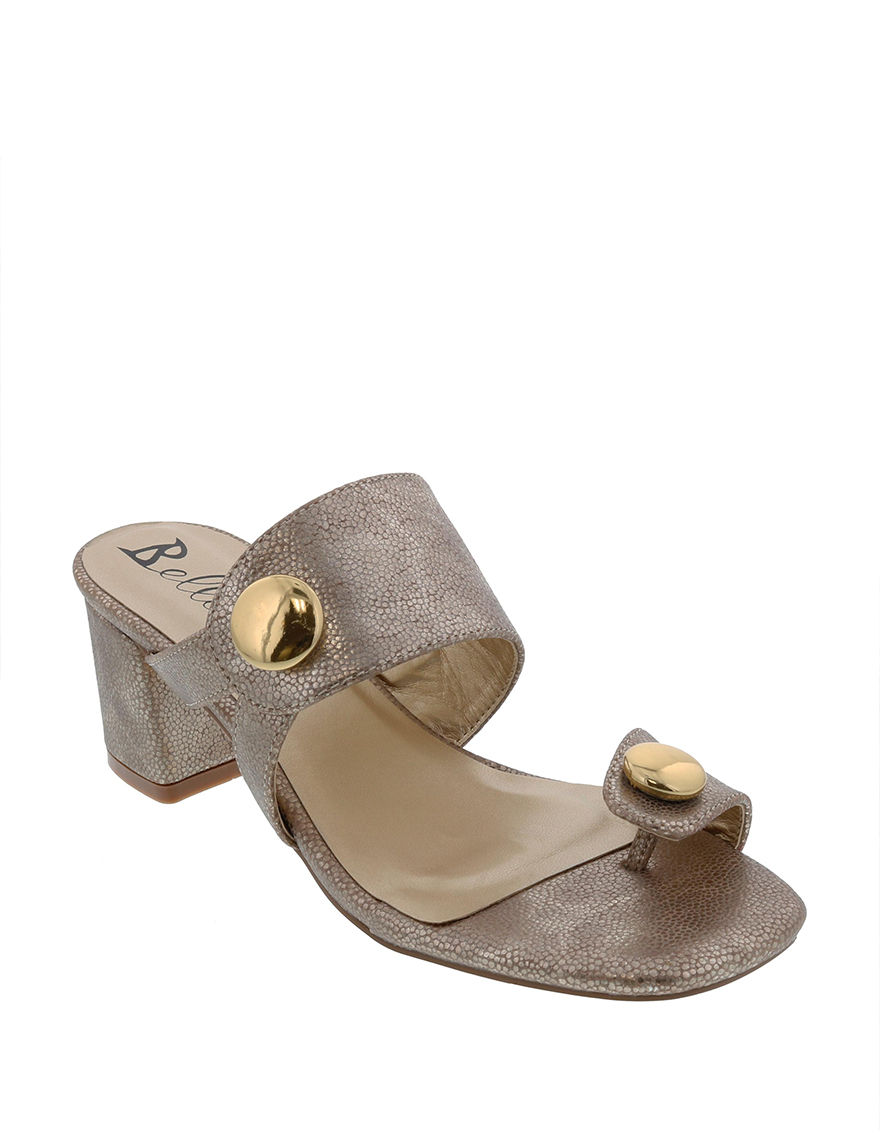 Bellini Taupe Heeled Sandals