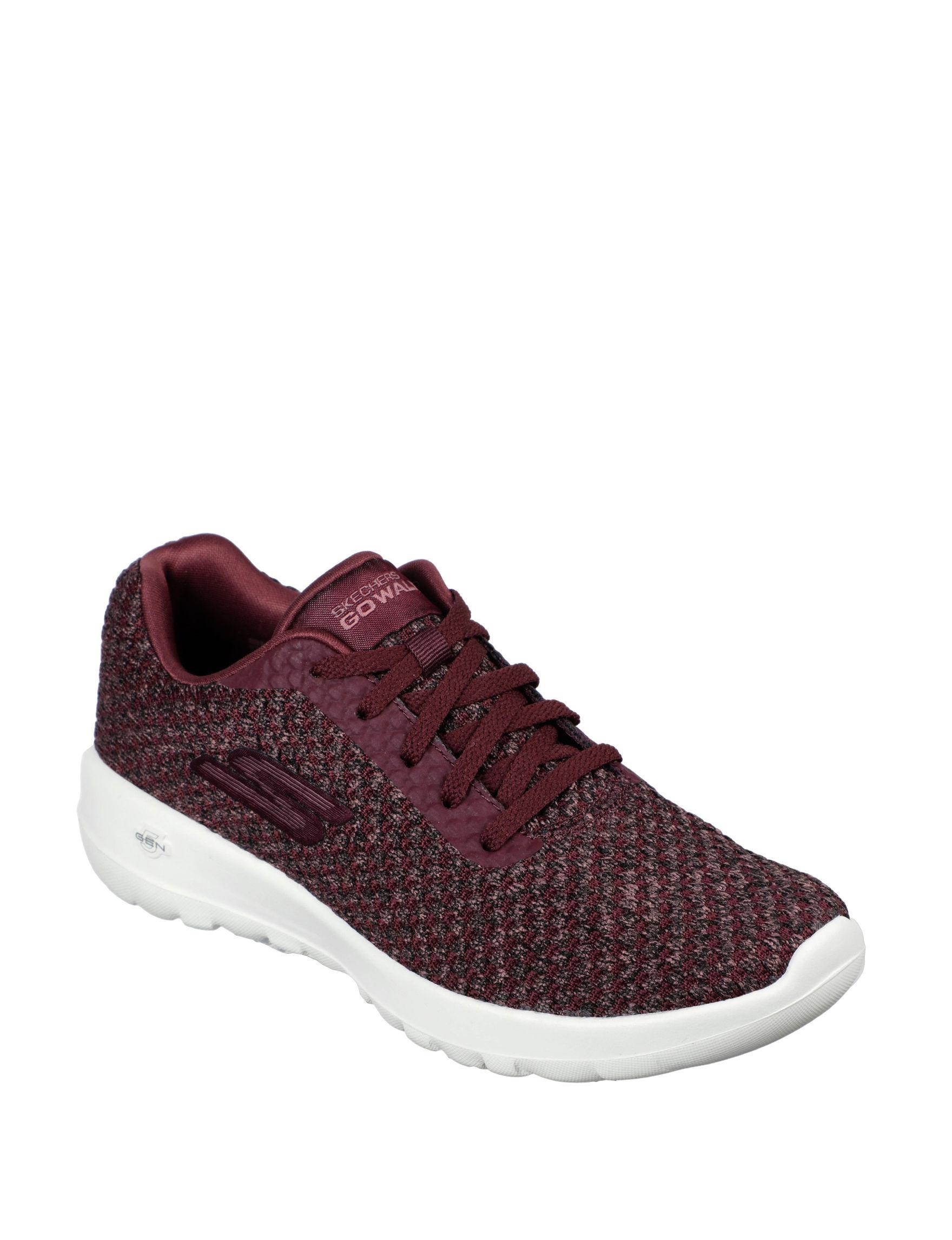 Skechers Burgundy Comfort Shoes