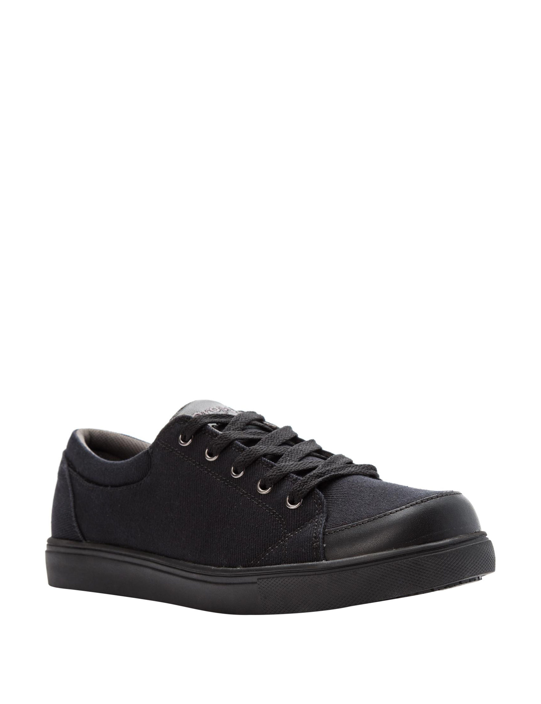 Propet Black Slip Resistant