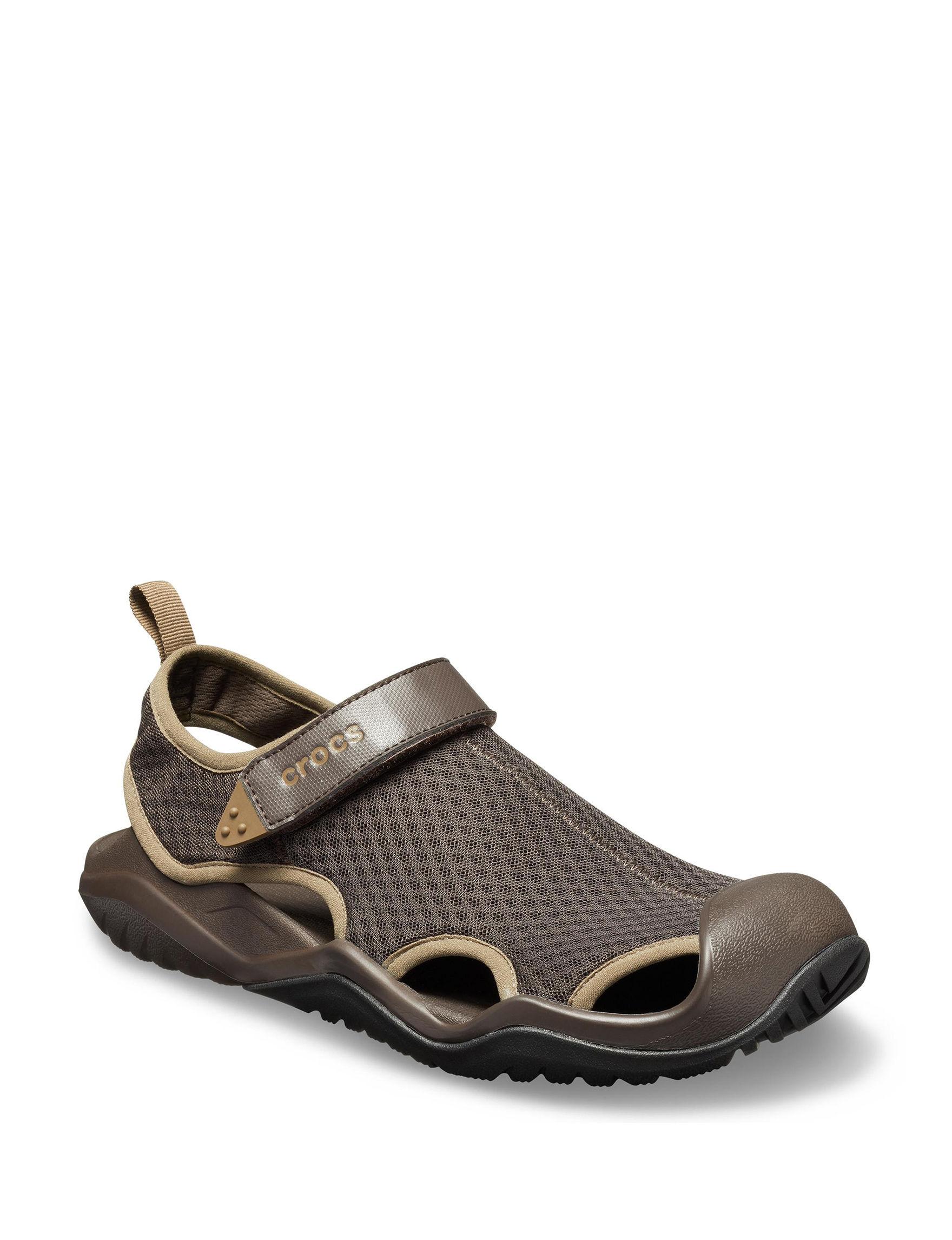 Crocs Dark Brown Sport Sandals