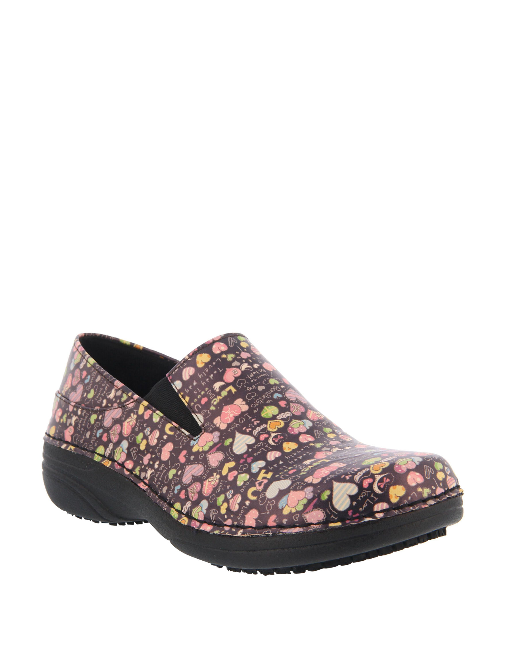 Spring Step Black Slip Resistant