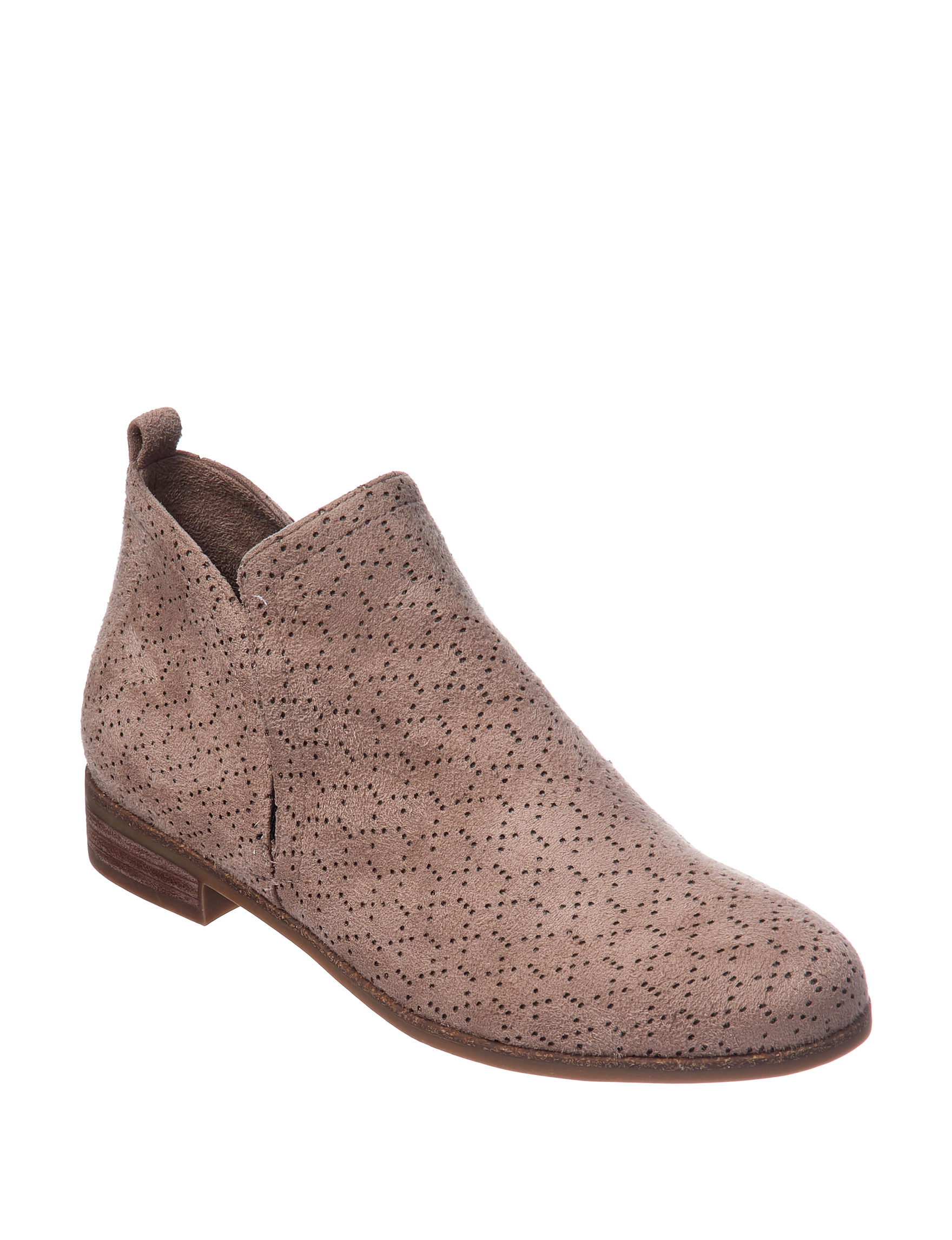 Dr. Scholl's Taupe Ankle Boots & Booties