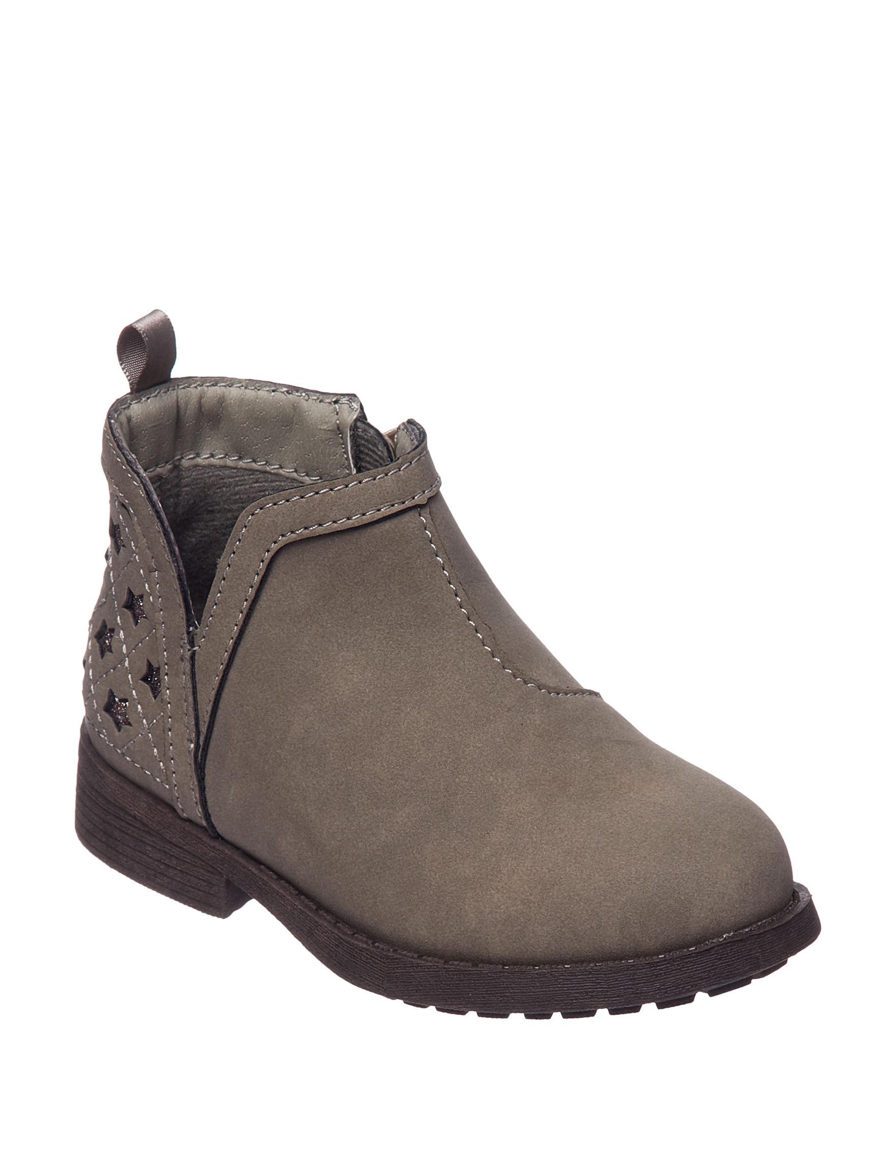 Oshkosh B'Gosh Taupe Ankle Boots & Booties
