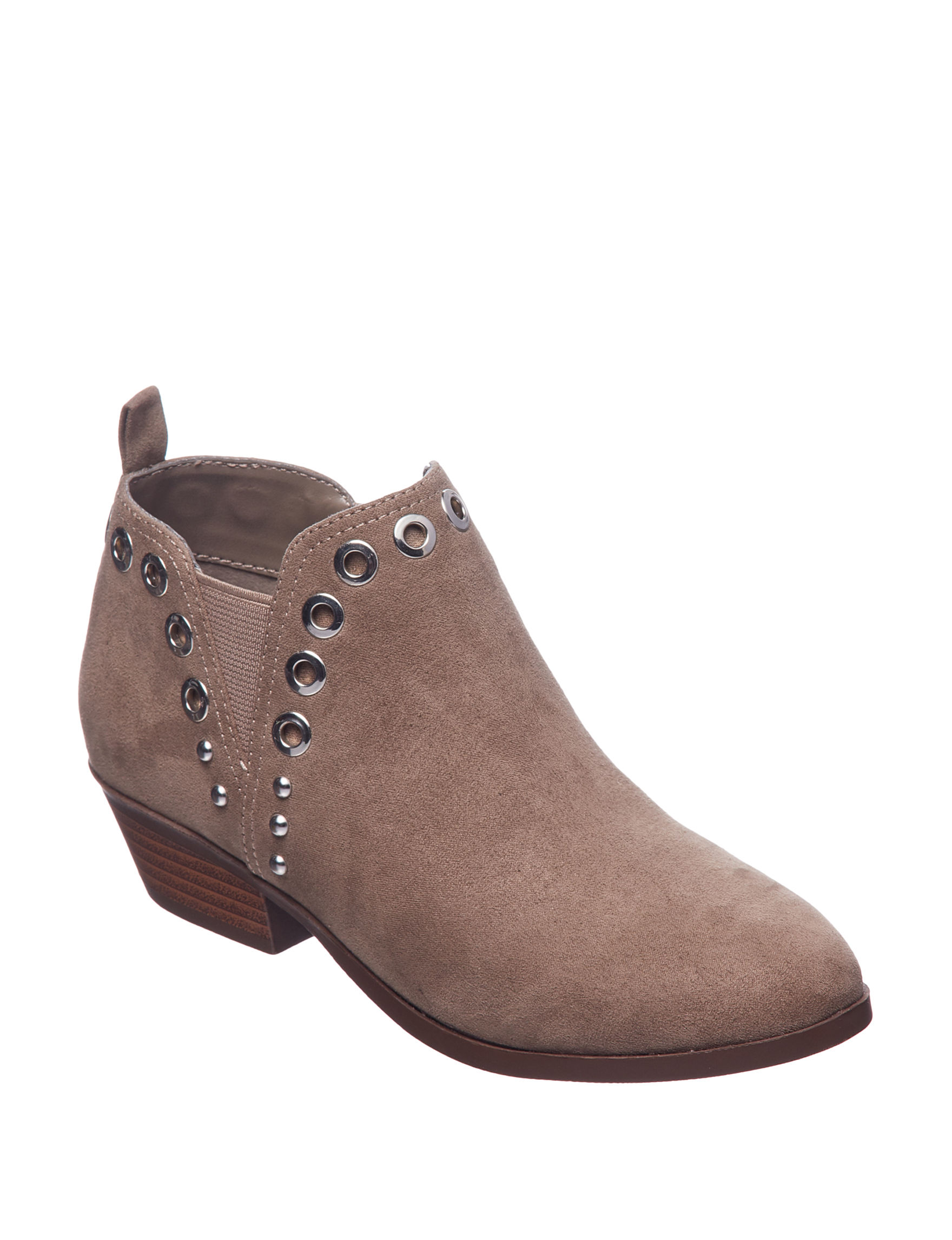 Circus By Sam Edelman Charcoal Ankle Boots & Booties