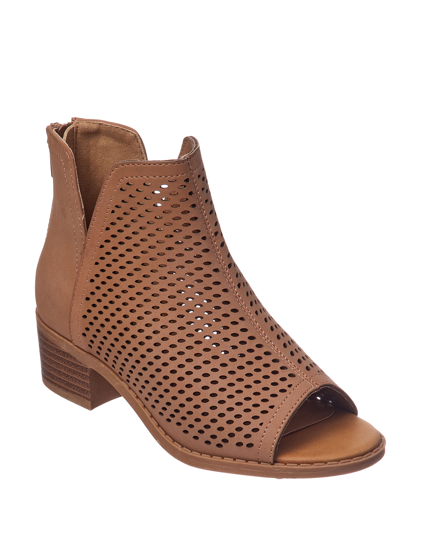Sugar Tan Ankle Boots & Booties