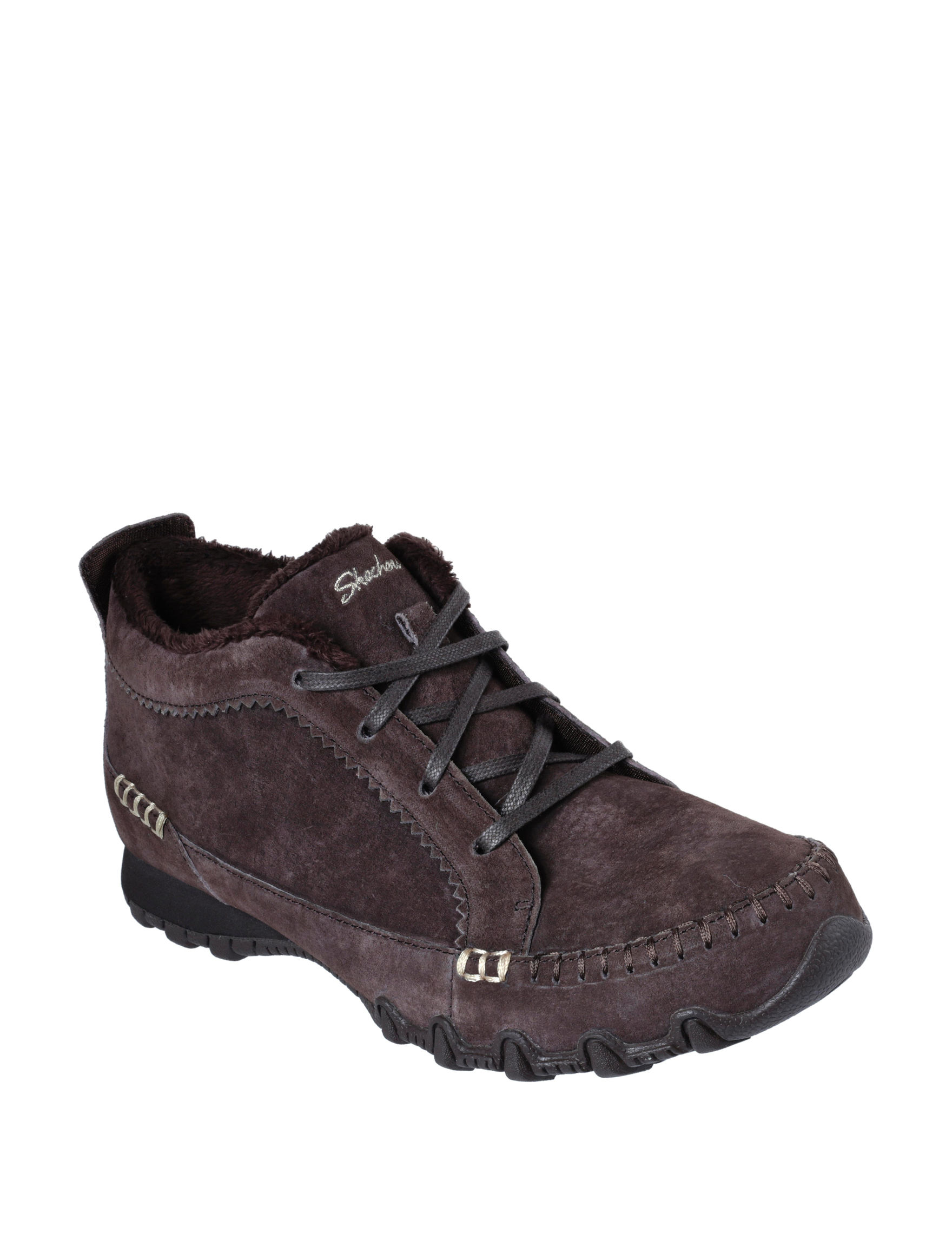 Skechers Brown Hiking Boots