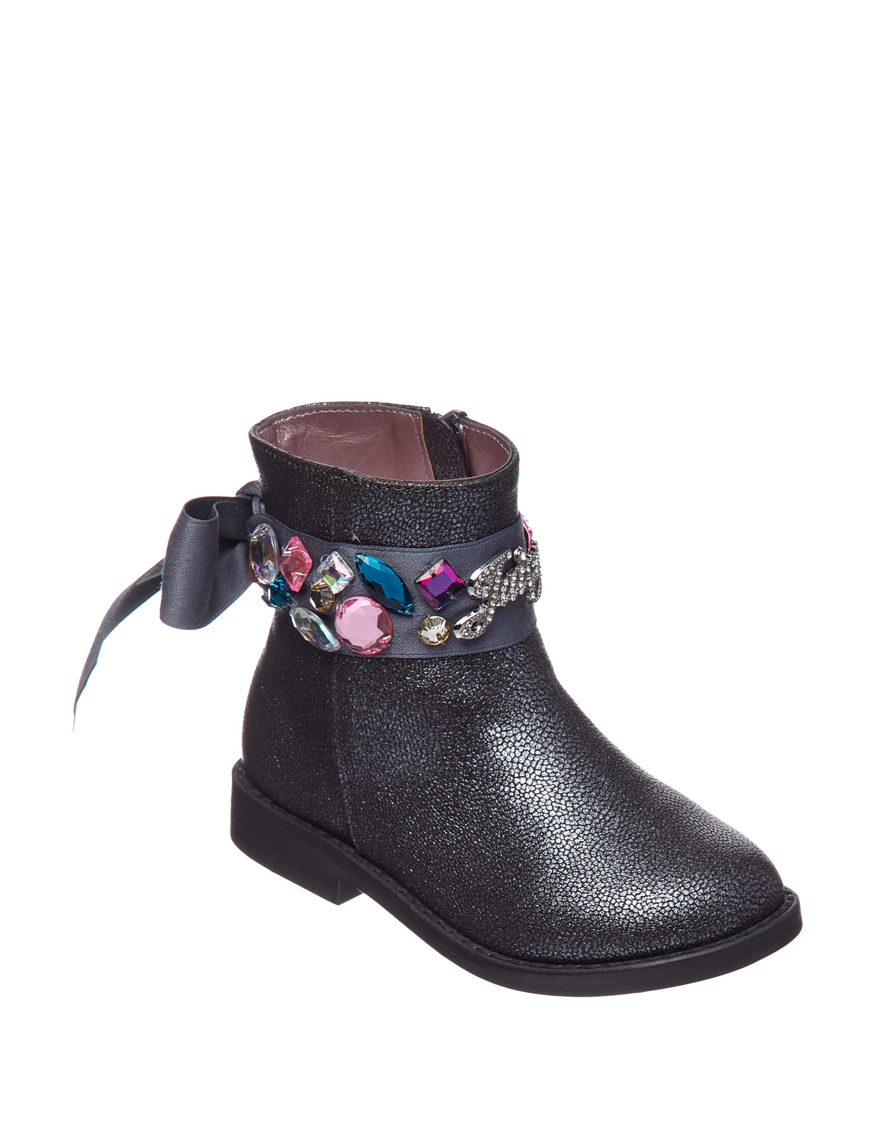 Juicy Couture Charcoal Ankle Boots & Booties