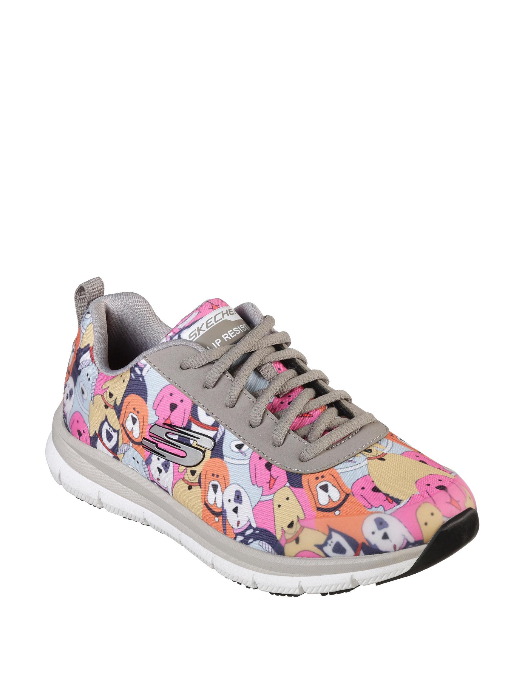 Skechers Grey Comfort Shoes Slip Resistant