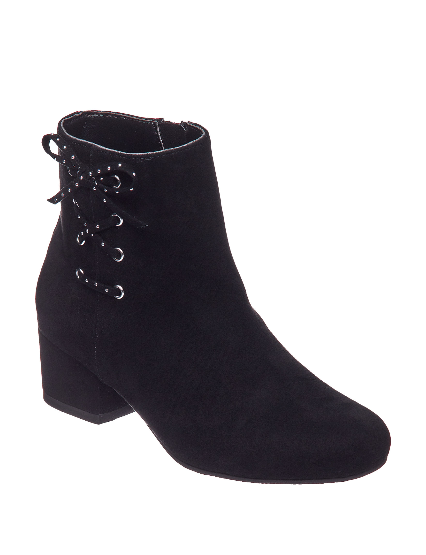 Circus By Sam Edelman Black Ankle Boots & Booties