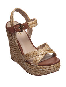 MIA Natural Wedge Sandals