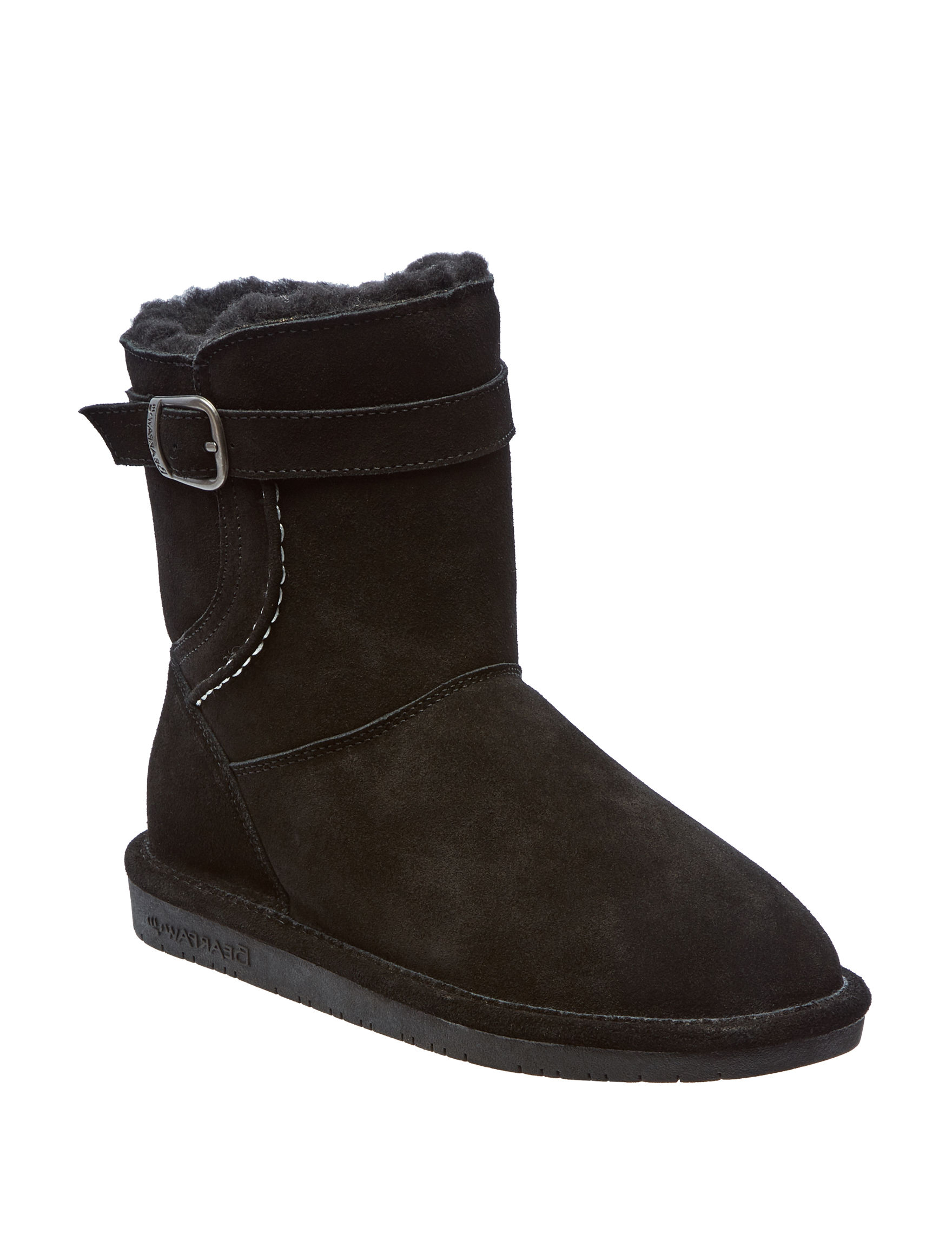 Bearpaw Black Winter Boots