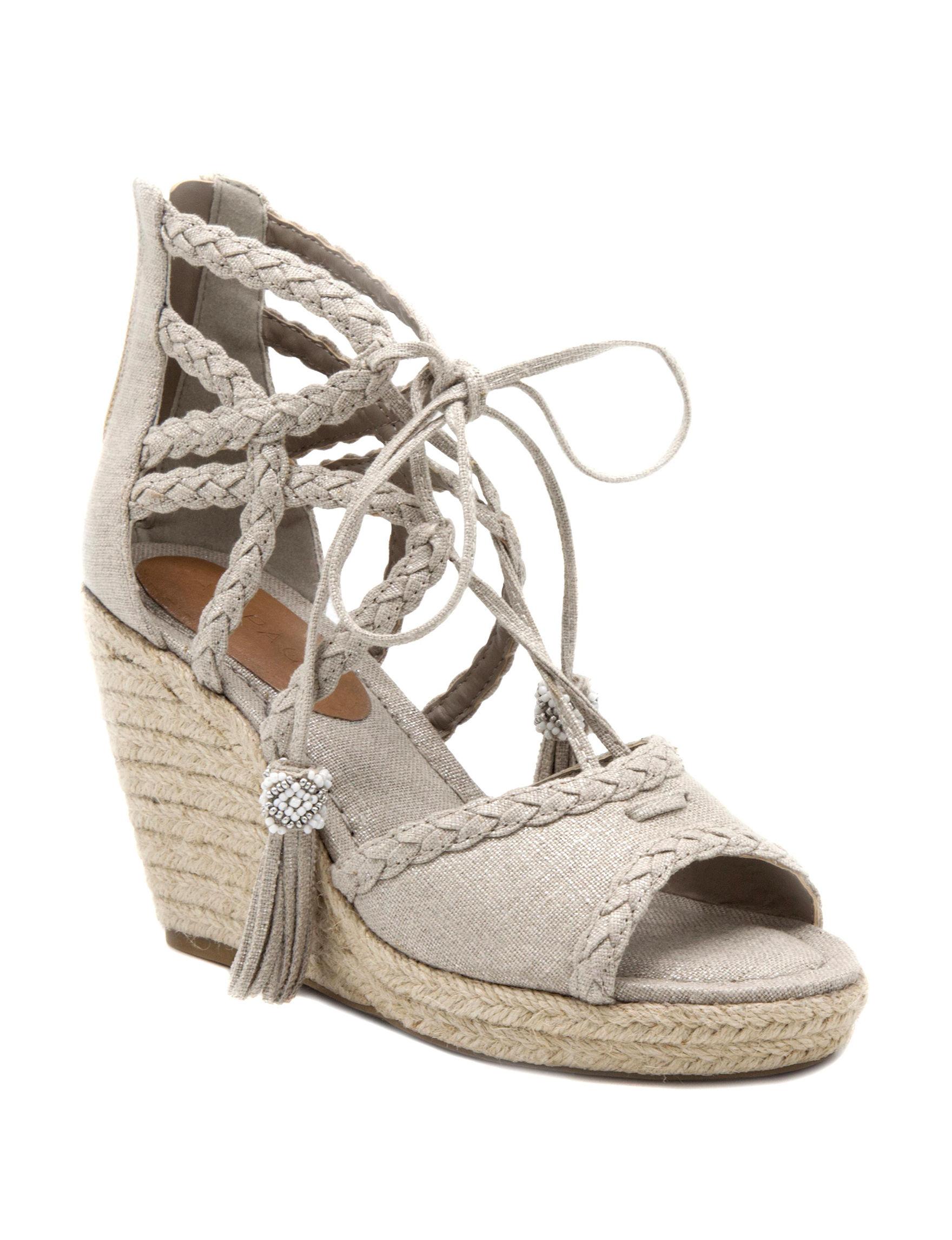 Rampage Natural Wedge Sandals