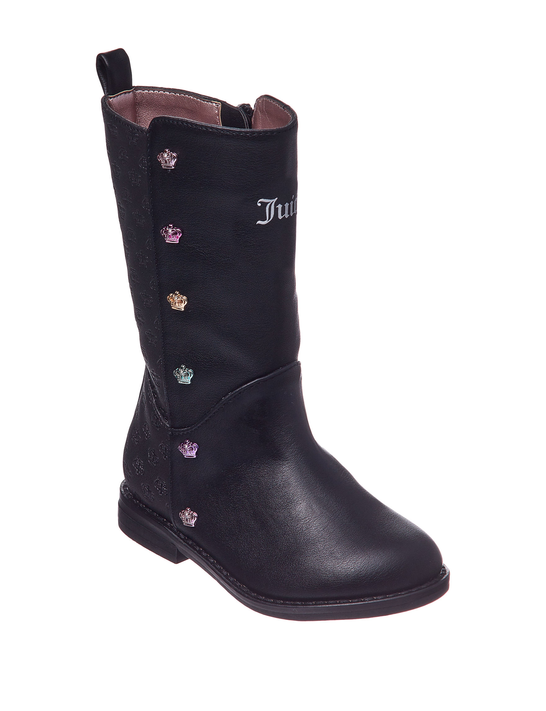 Juicy Couture Black Riding Boots