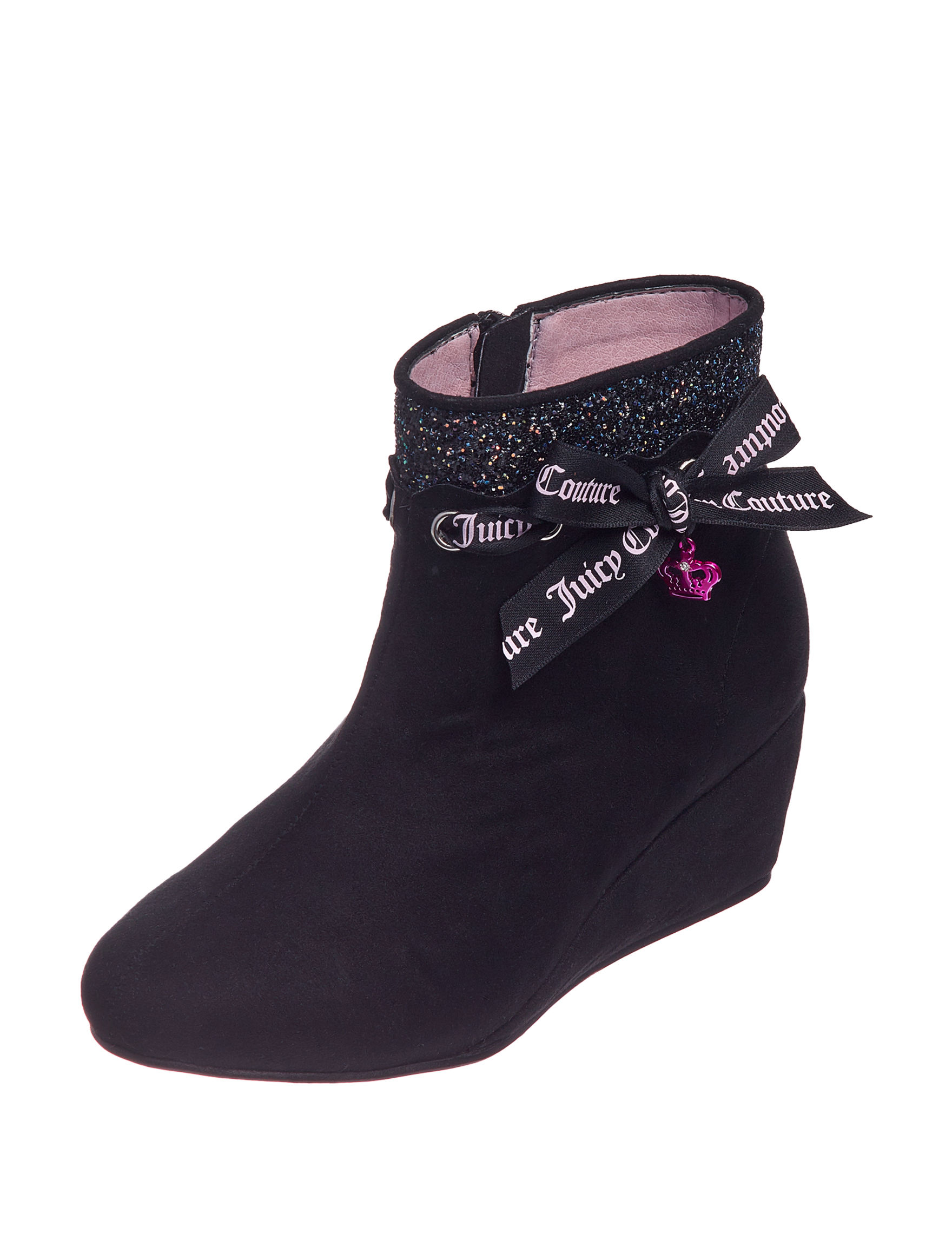 Juicy Couture Black Ankle Boots & Booties