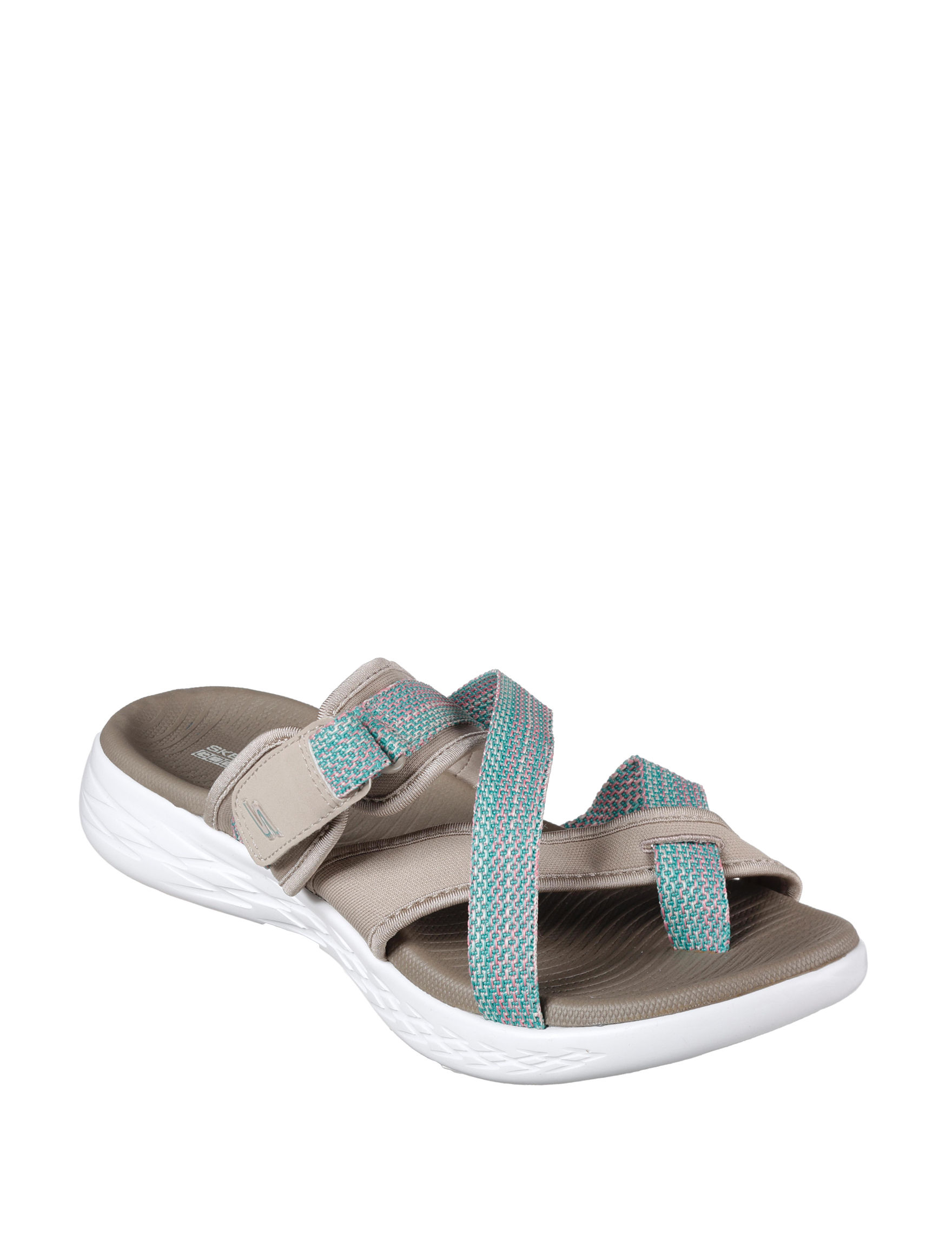 Skechers Taupe Sport Sandals