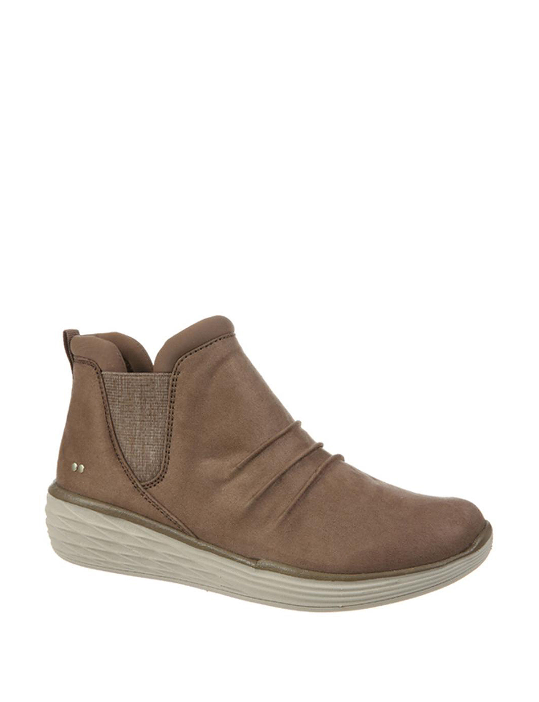 Ryka Taupe Comfort Shoes Wedge Boots Winter Boots