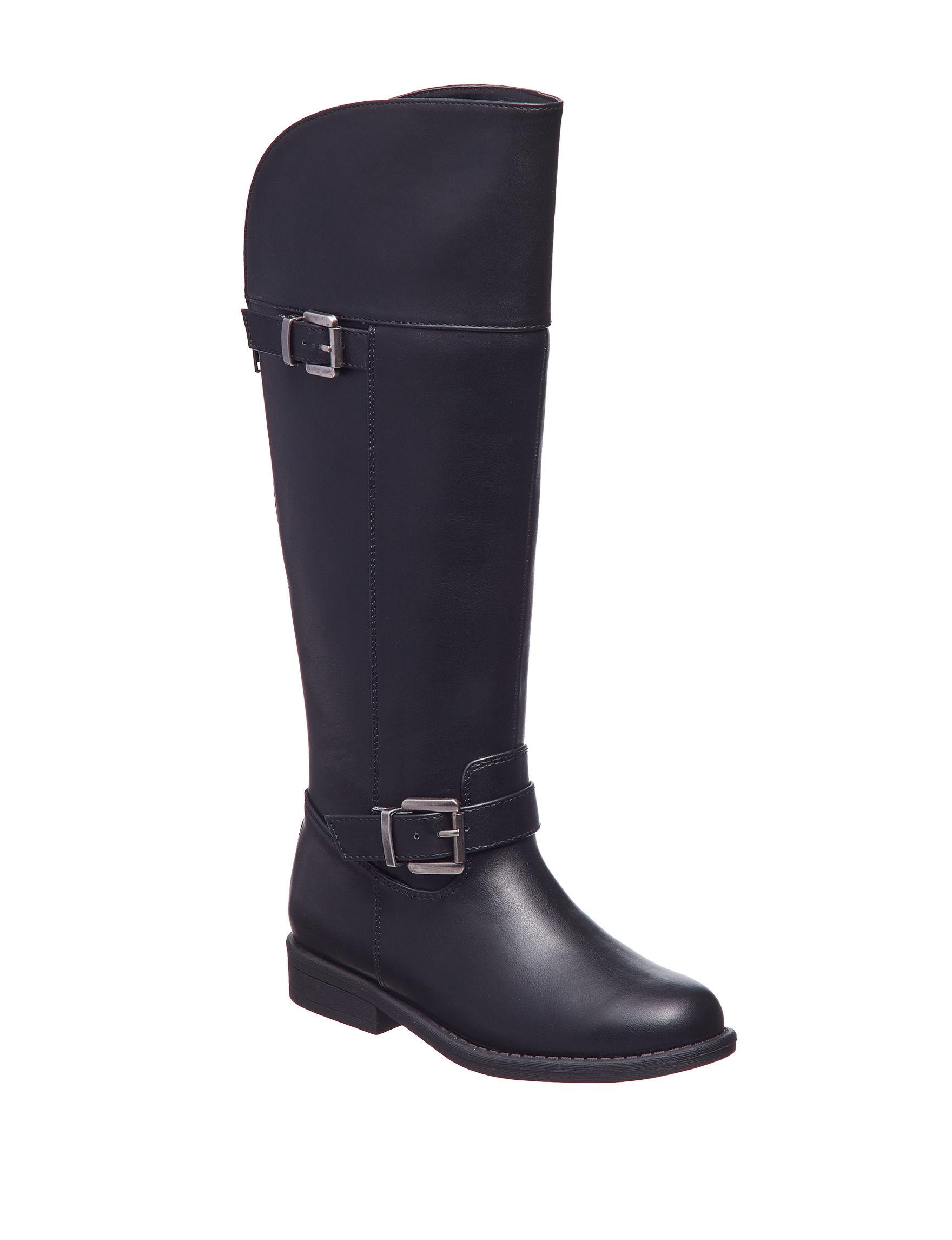 143 Girl Black Riding Boots