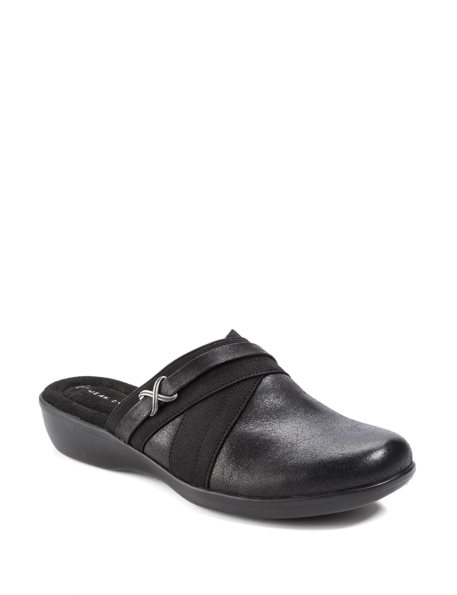 Wear. Ever. Black Comfort Shoes
