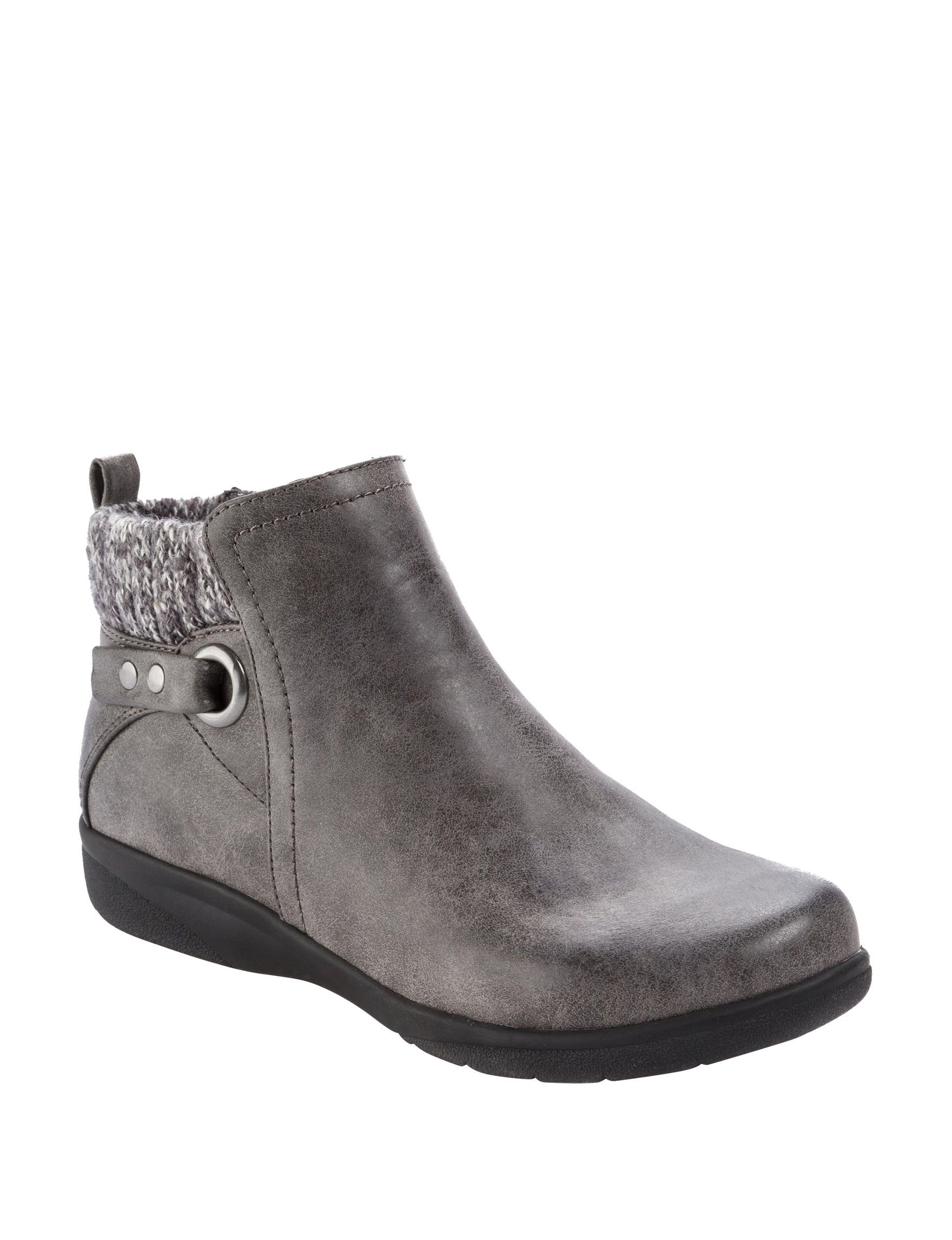 Wear. Ever. Charcoal Ankle Boots & Booties