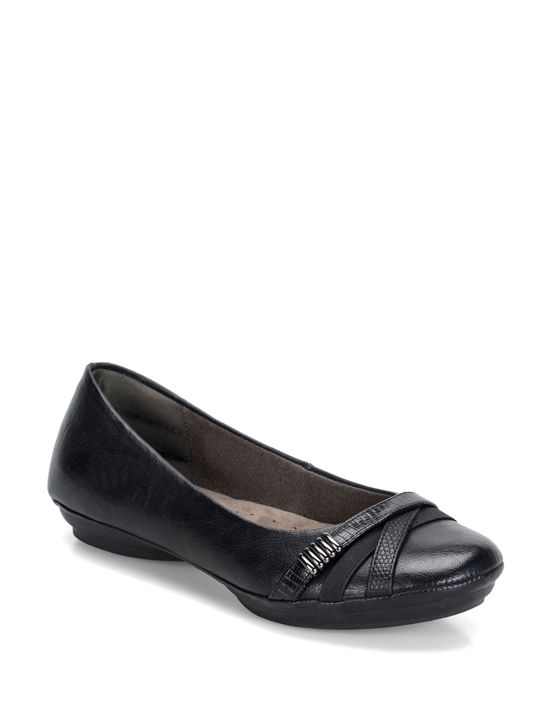 Eurosoft Black Comfort Shoes