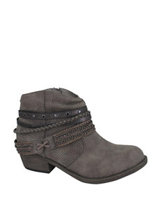 Jellypop Charcoal Ankle Boots & Booties