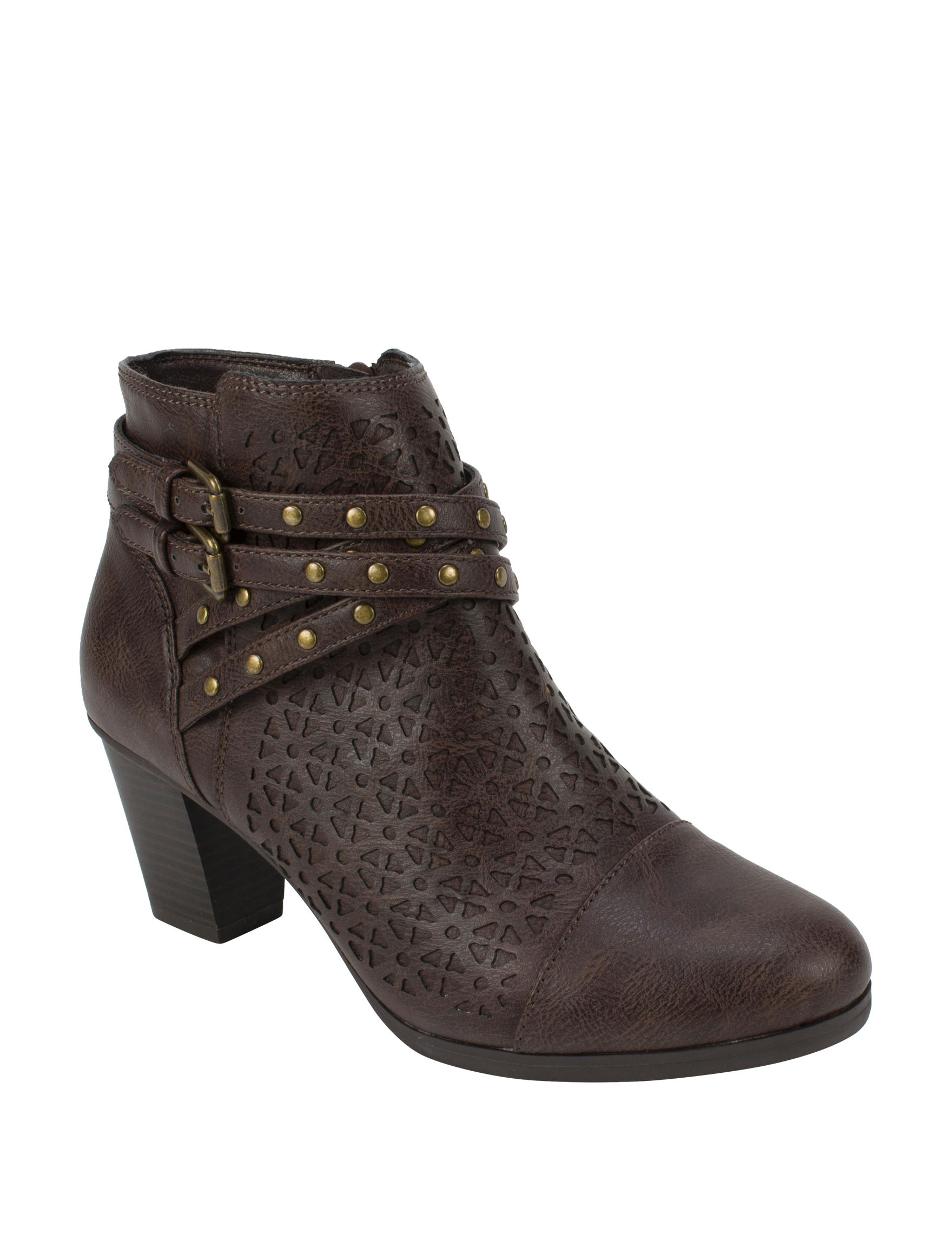Rialto Brown Ankle Boots & Booties Comfort