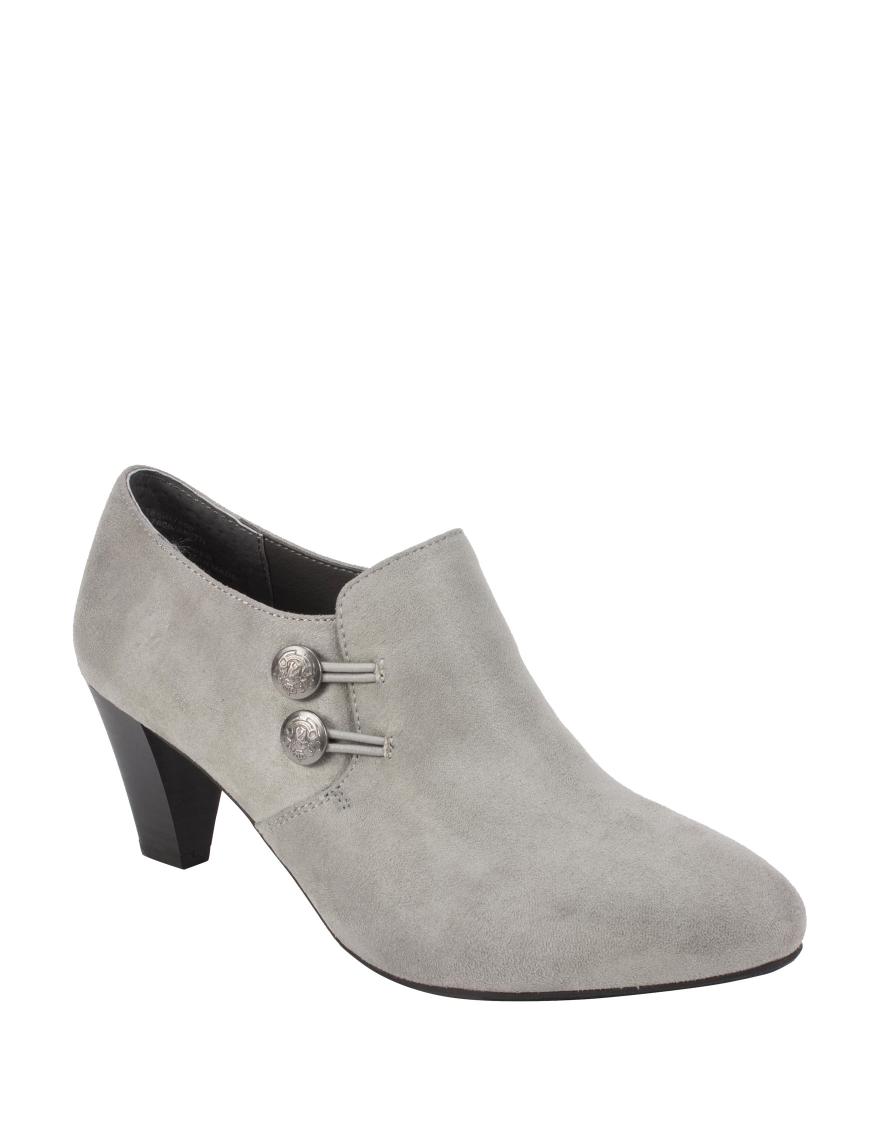 Rialto Light Grey Ankle Boots & Booties