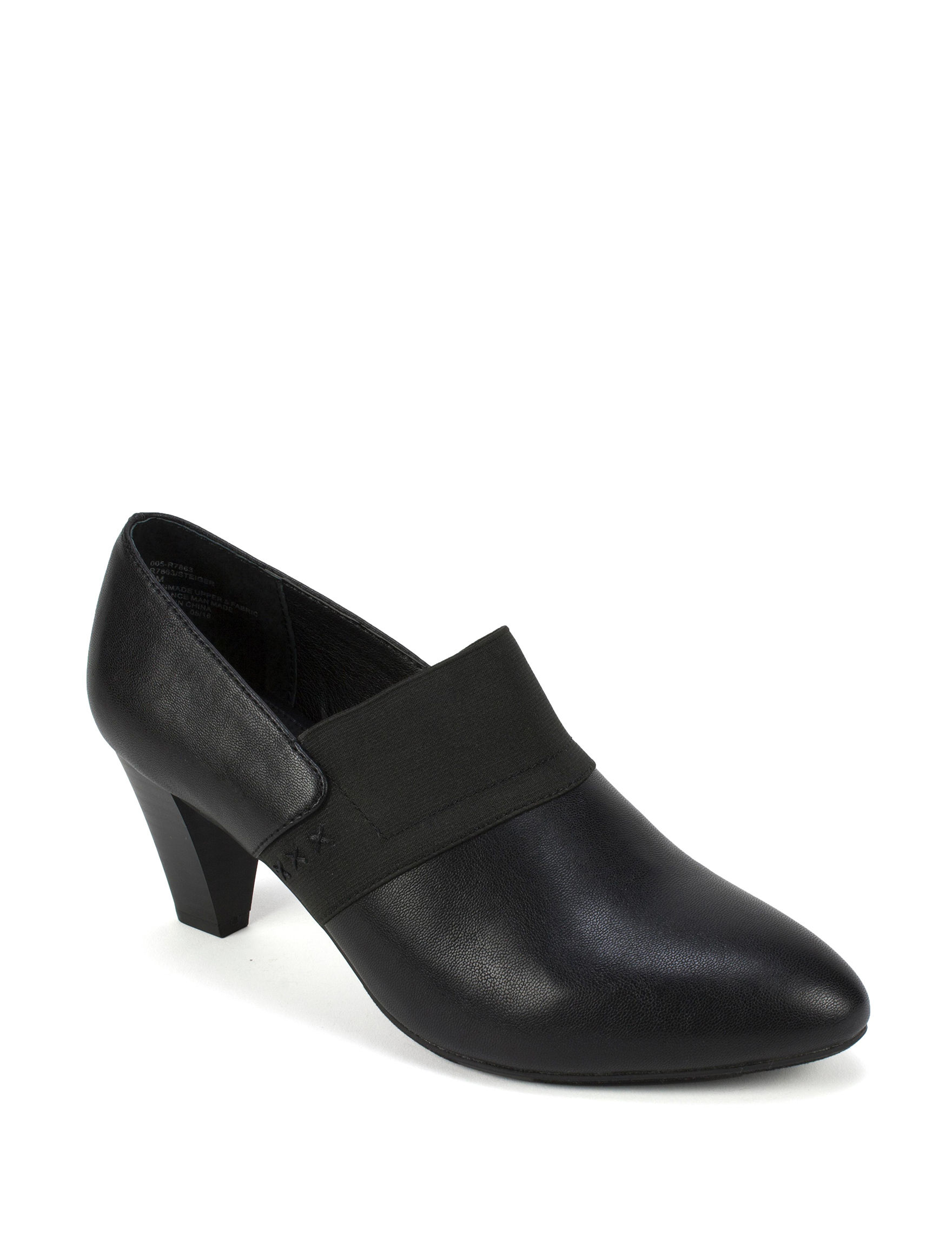 Rialto Black Ankle Boots & Booties Comfort Shoes