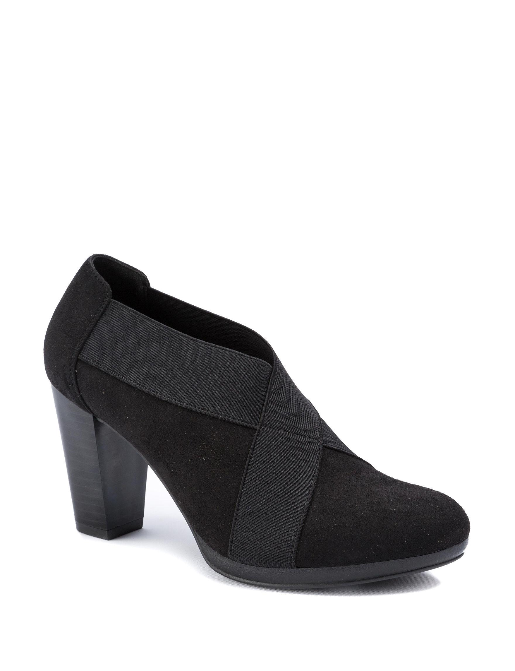 Andrew Geller Black Ankle Boots & Booties Comfort Shoes