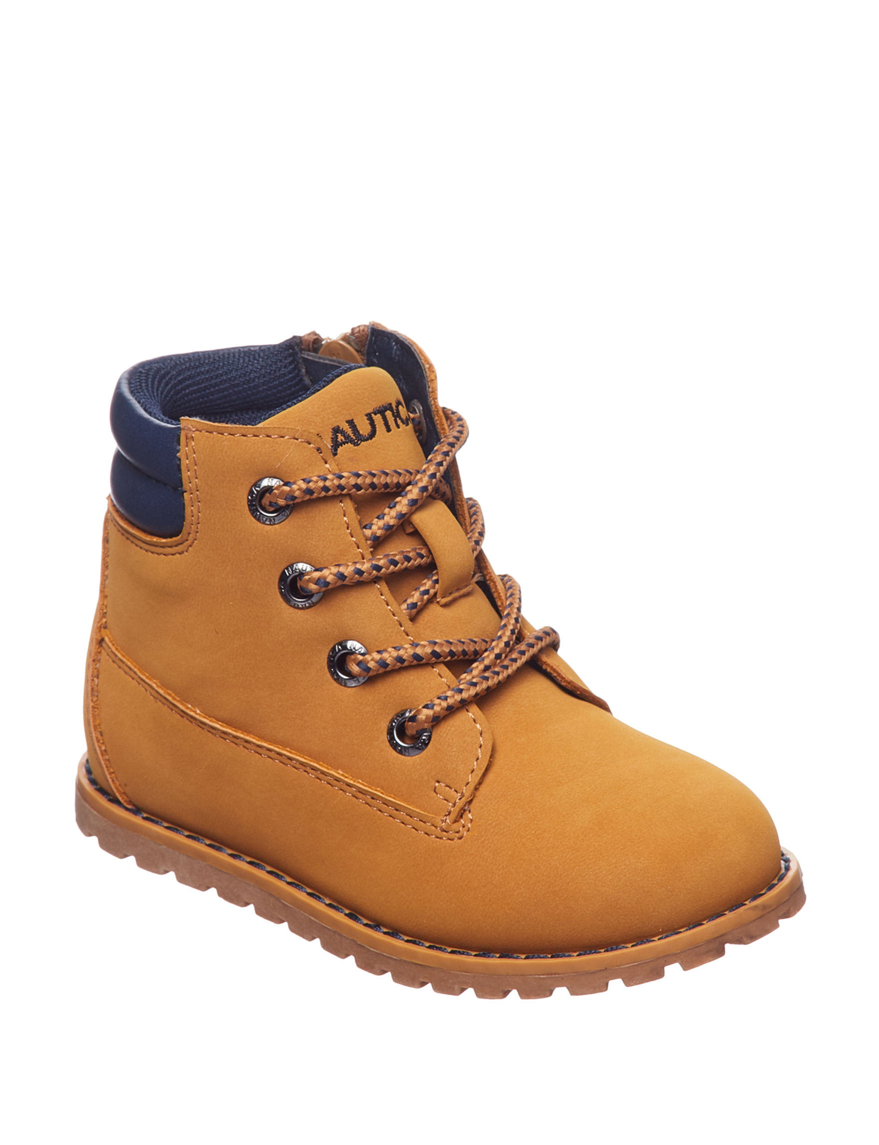 Nautica Light Brown Hiking Boots
