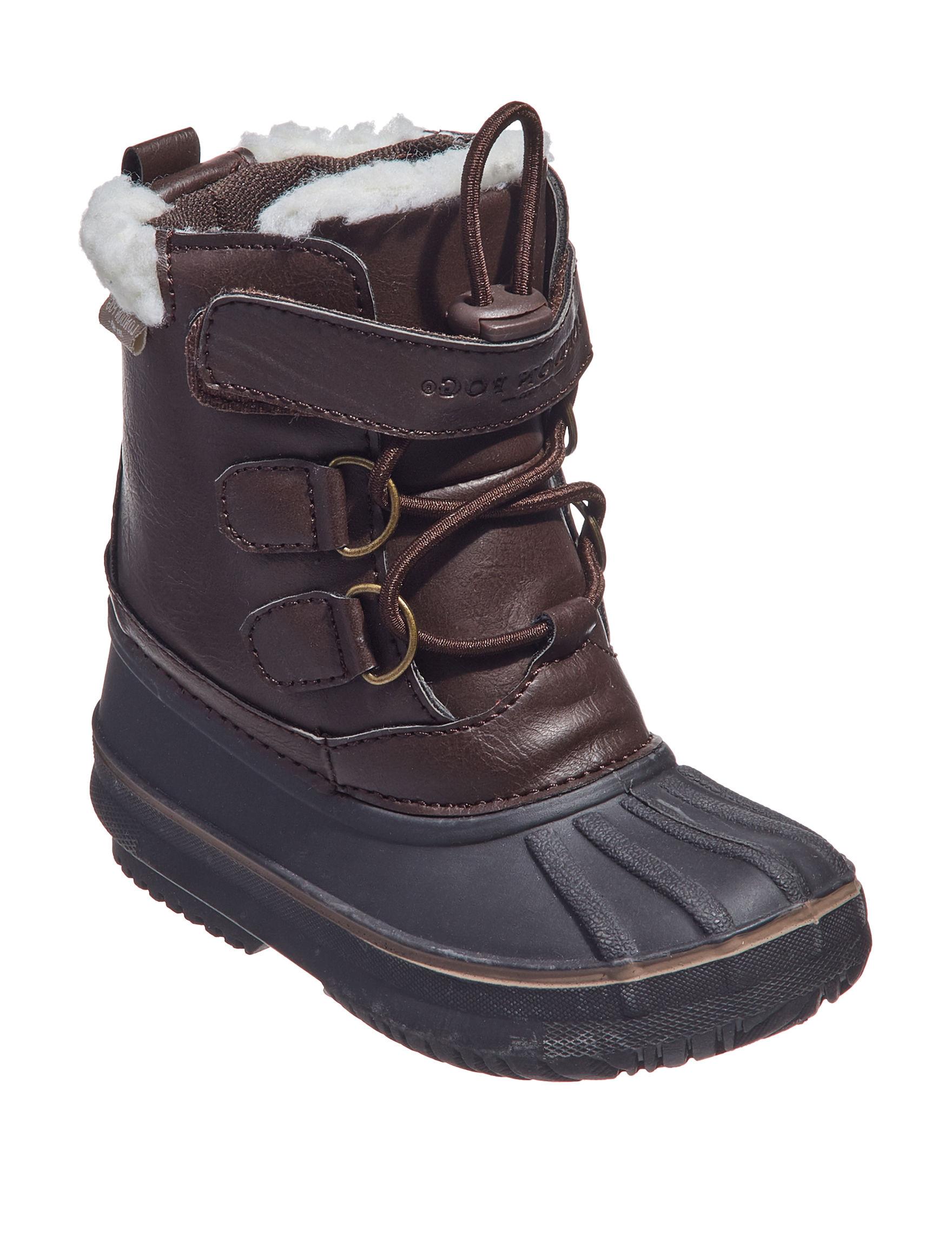 London Fog Brown Rain Boots