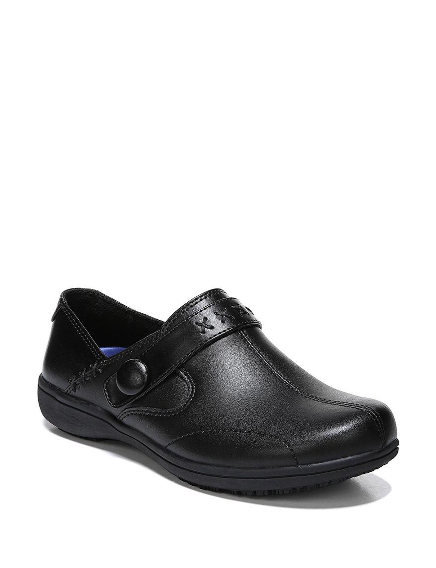 Dr. Scholl's Black Comfort Shoes Slip Resistant