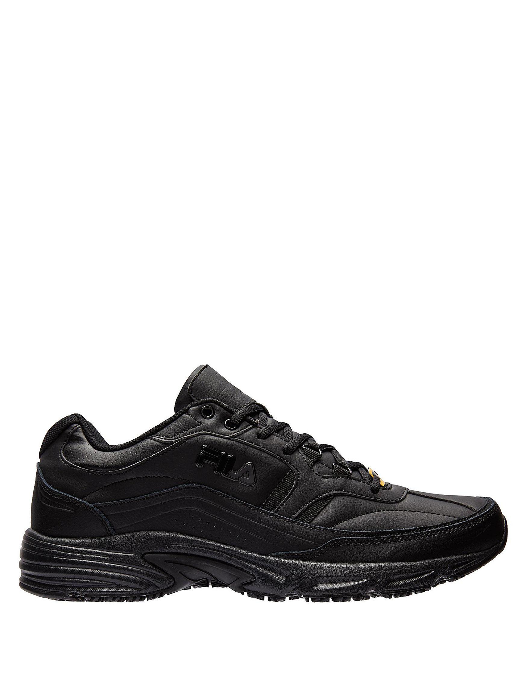 Fila Black Slip Resistant Work