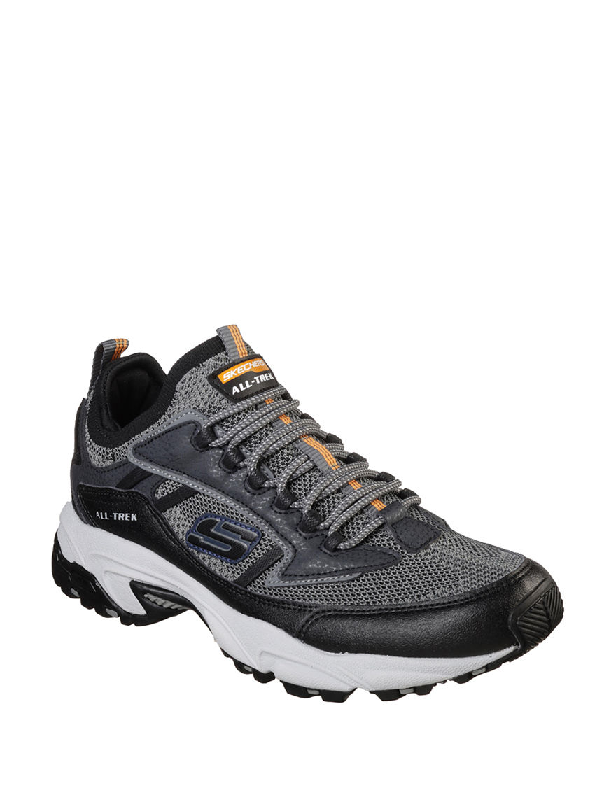 Skechers Grey / Black
