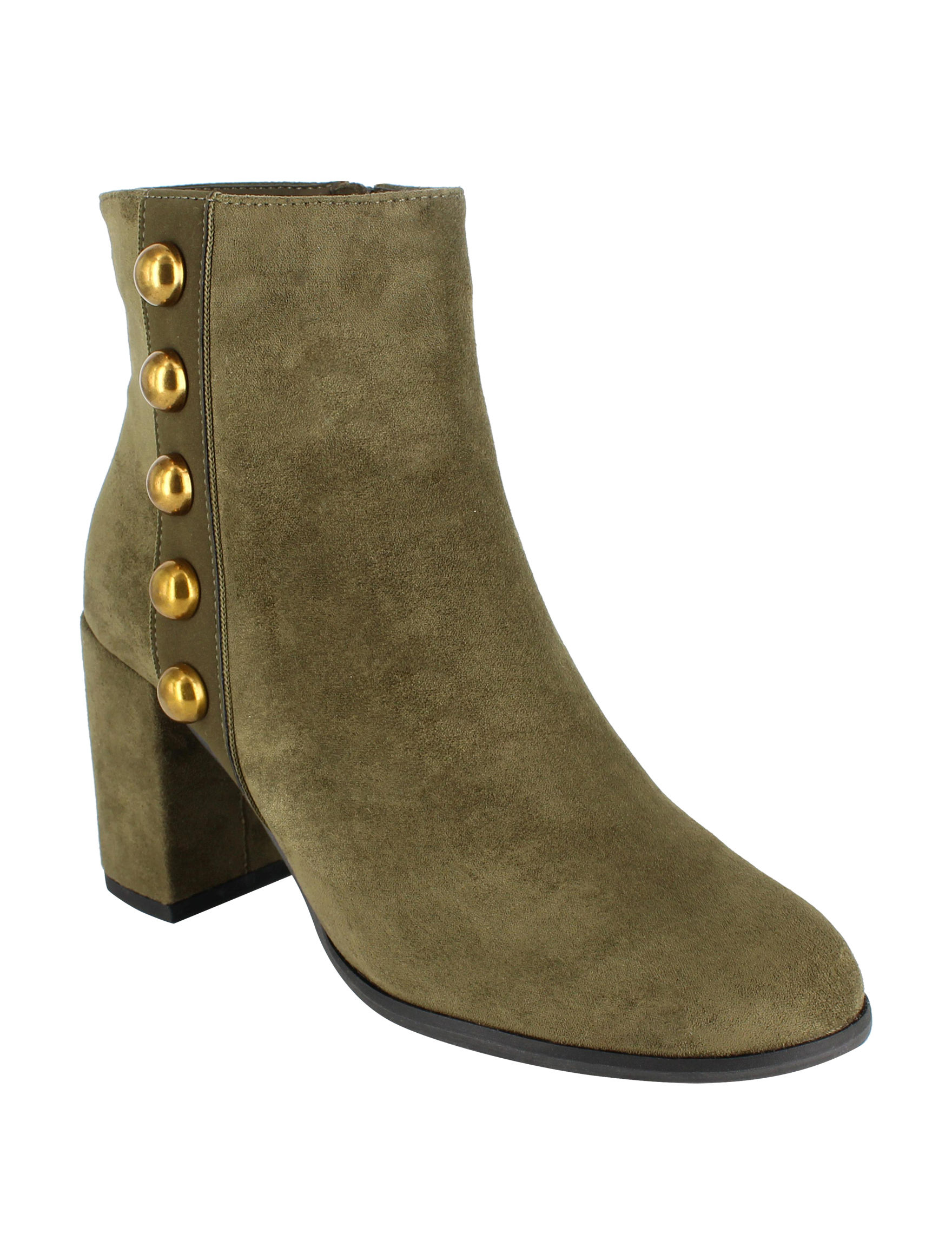 Dolce by Mojo Moxy Olive Ankle Boots & Booties