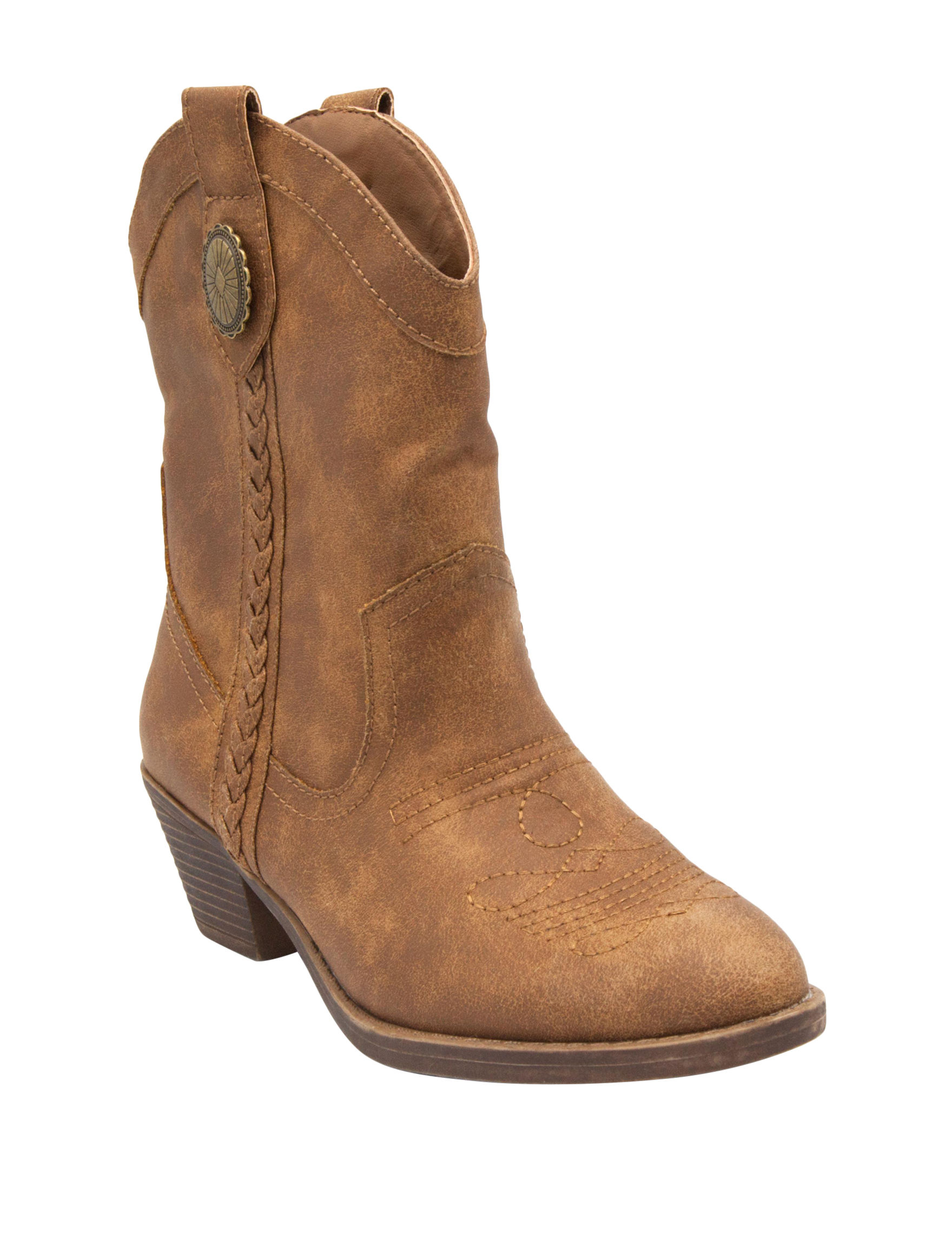 Rampage Brown Western & Cowboy Boots