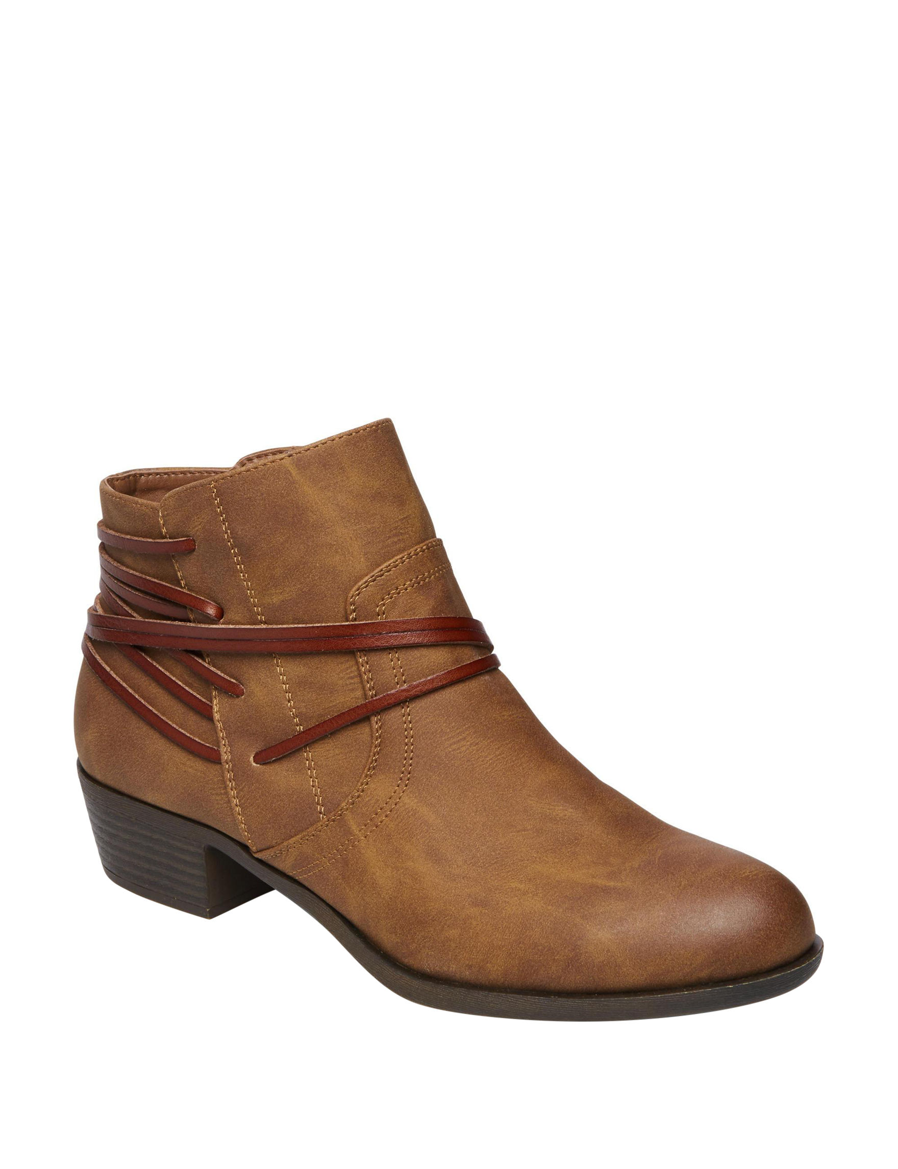 Madden Girl Tan Ankle Boots & Booties