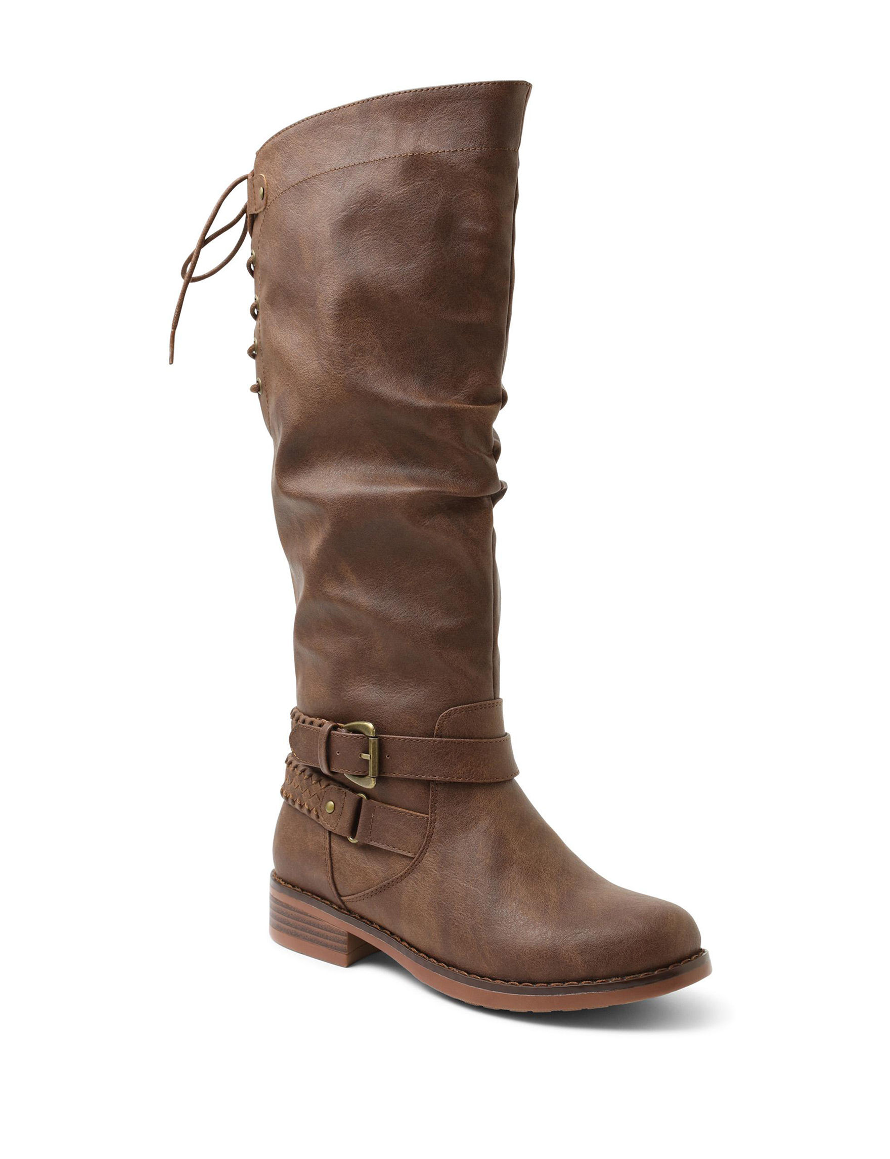 XOXO Brown Riding Boots
