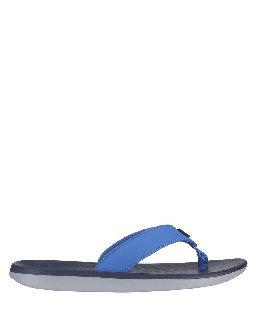Nike Blue Flip Flops