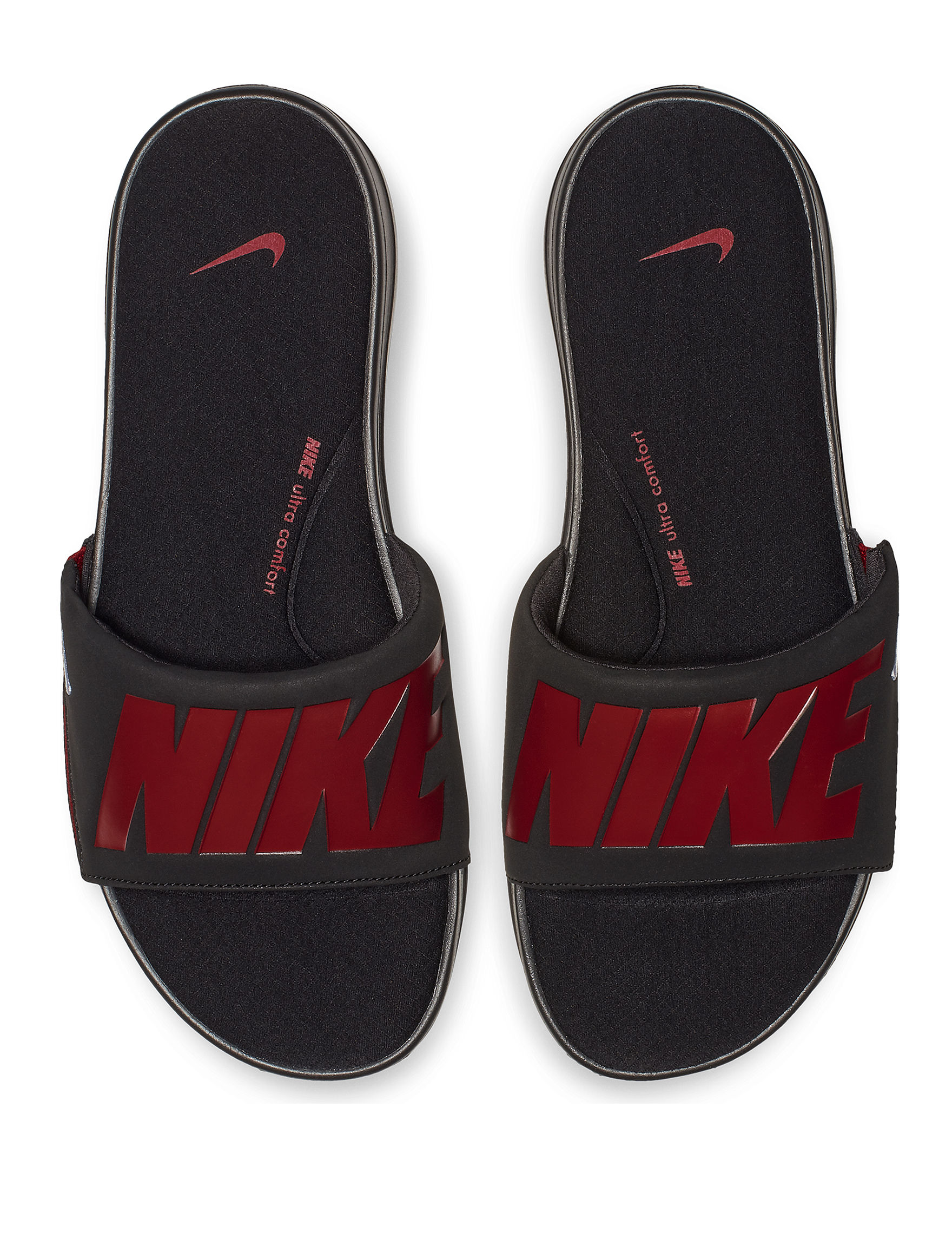 Nike Red Slide Sandals
