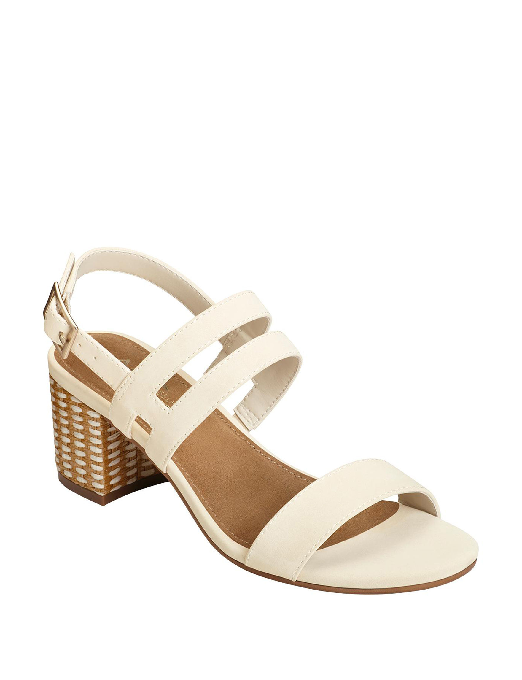 A2 by Aerosoles Bone Heeled Sandals