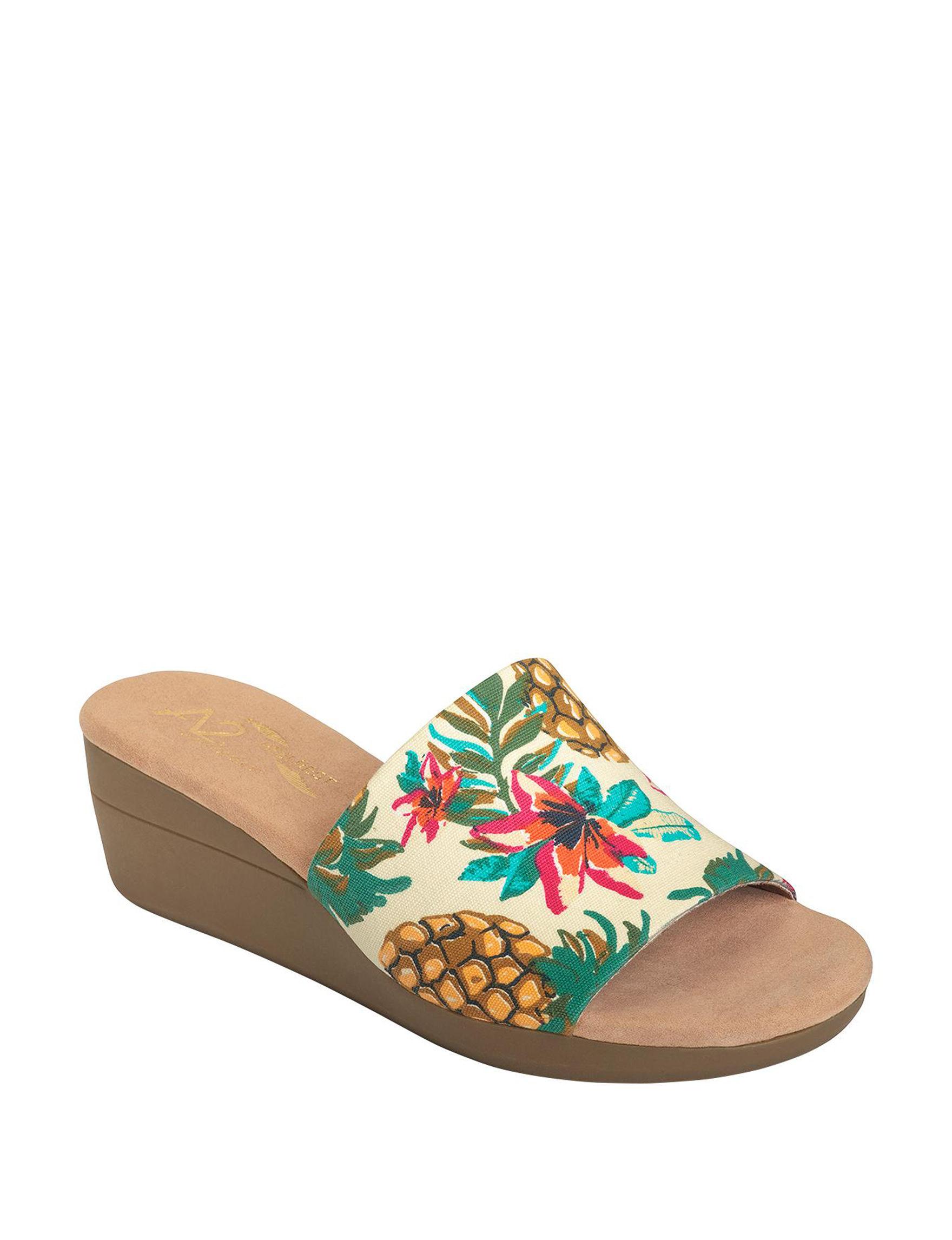 A2 by Aerosoles Multi Wedge Sandals