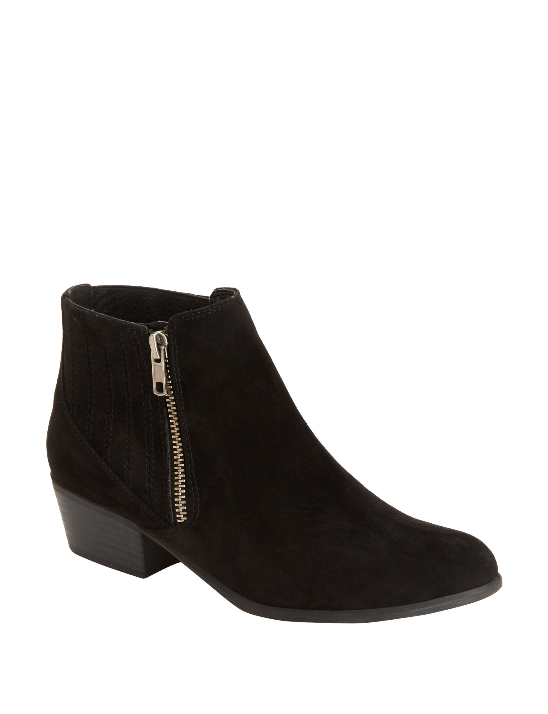 Espirit Black Ankle Boots & Booties