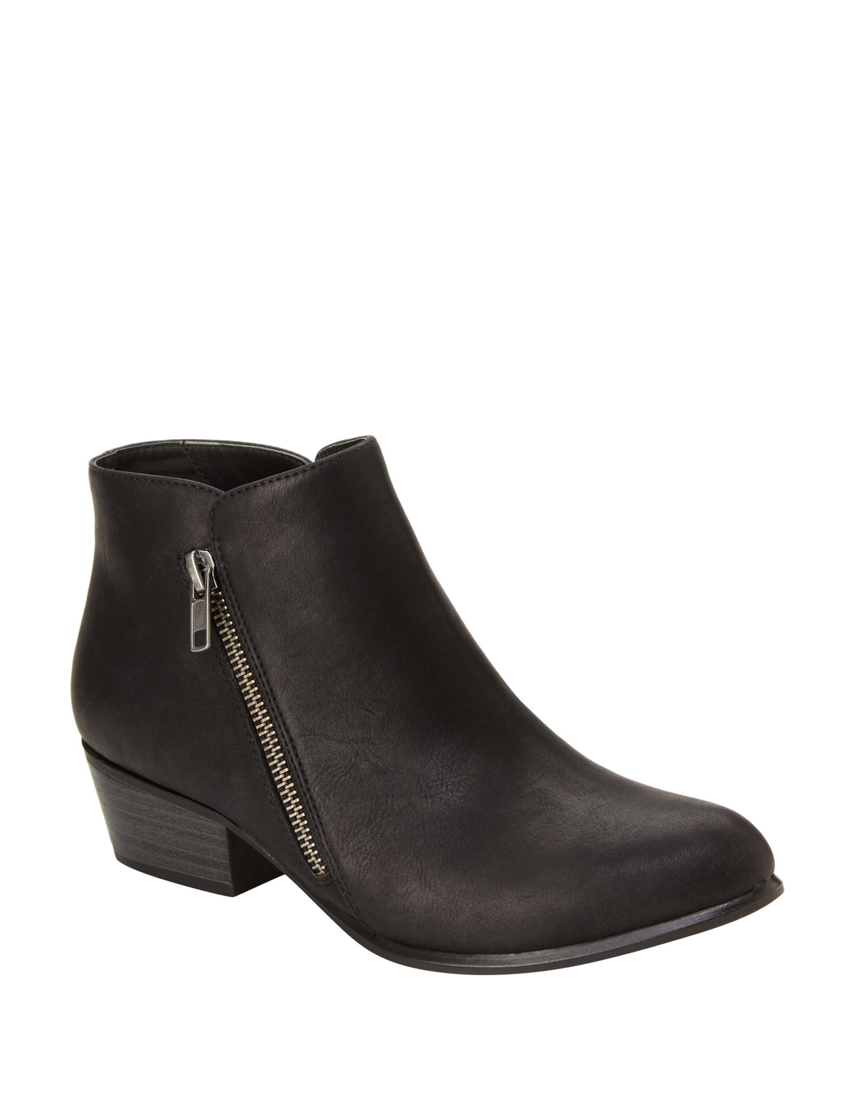 Unionbay Black Ankle Boots & Booties