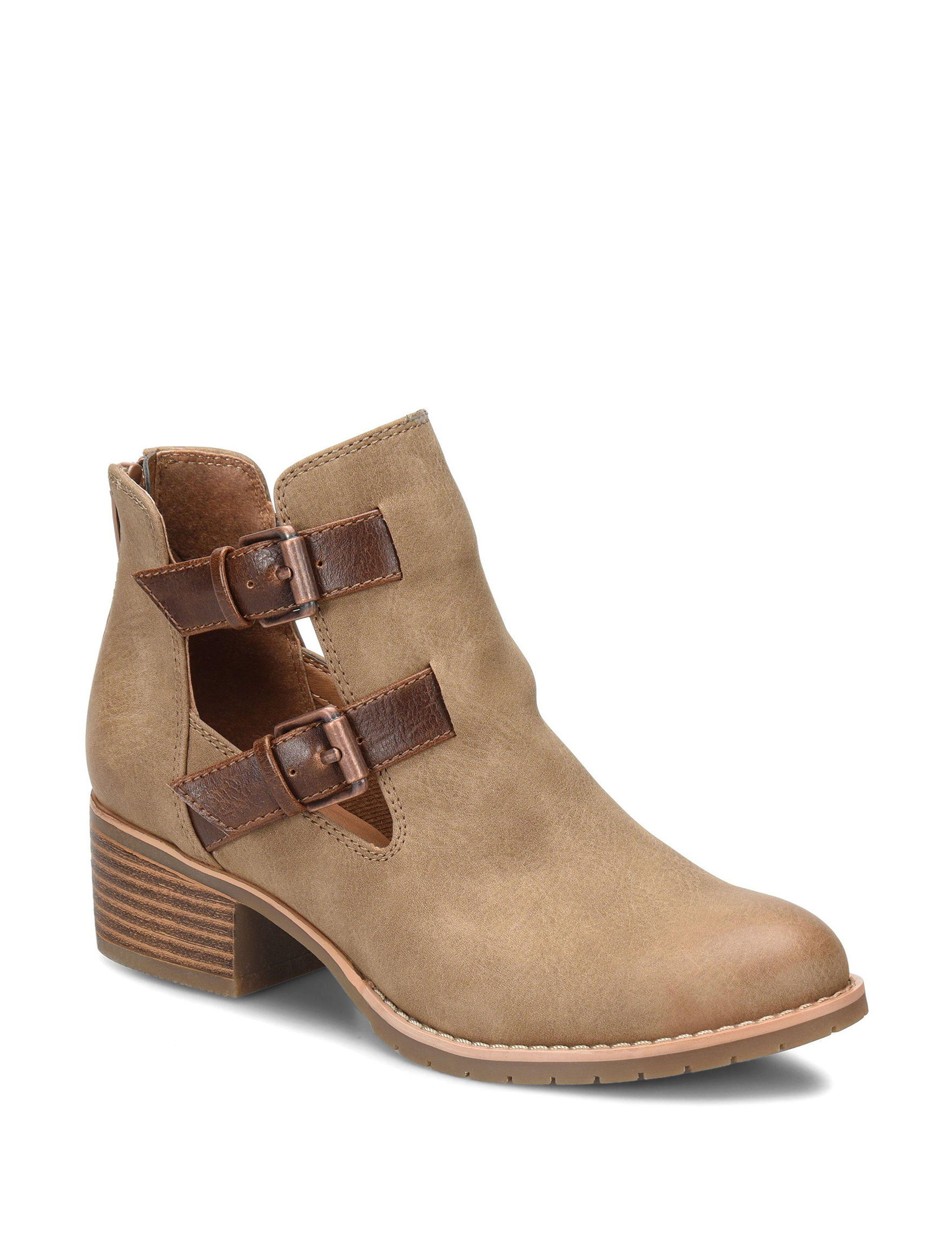 Eurosoft Taupe Ankle Boots & Booties
