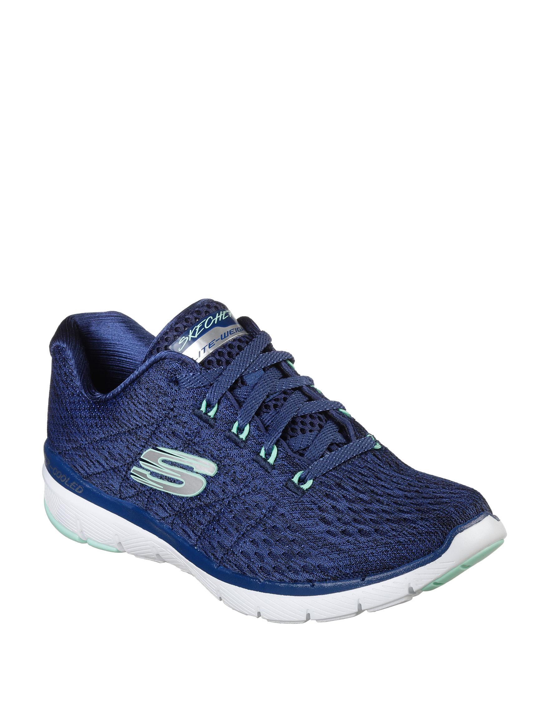 Skechers Navy Comfort Shoes
